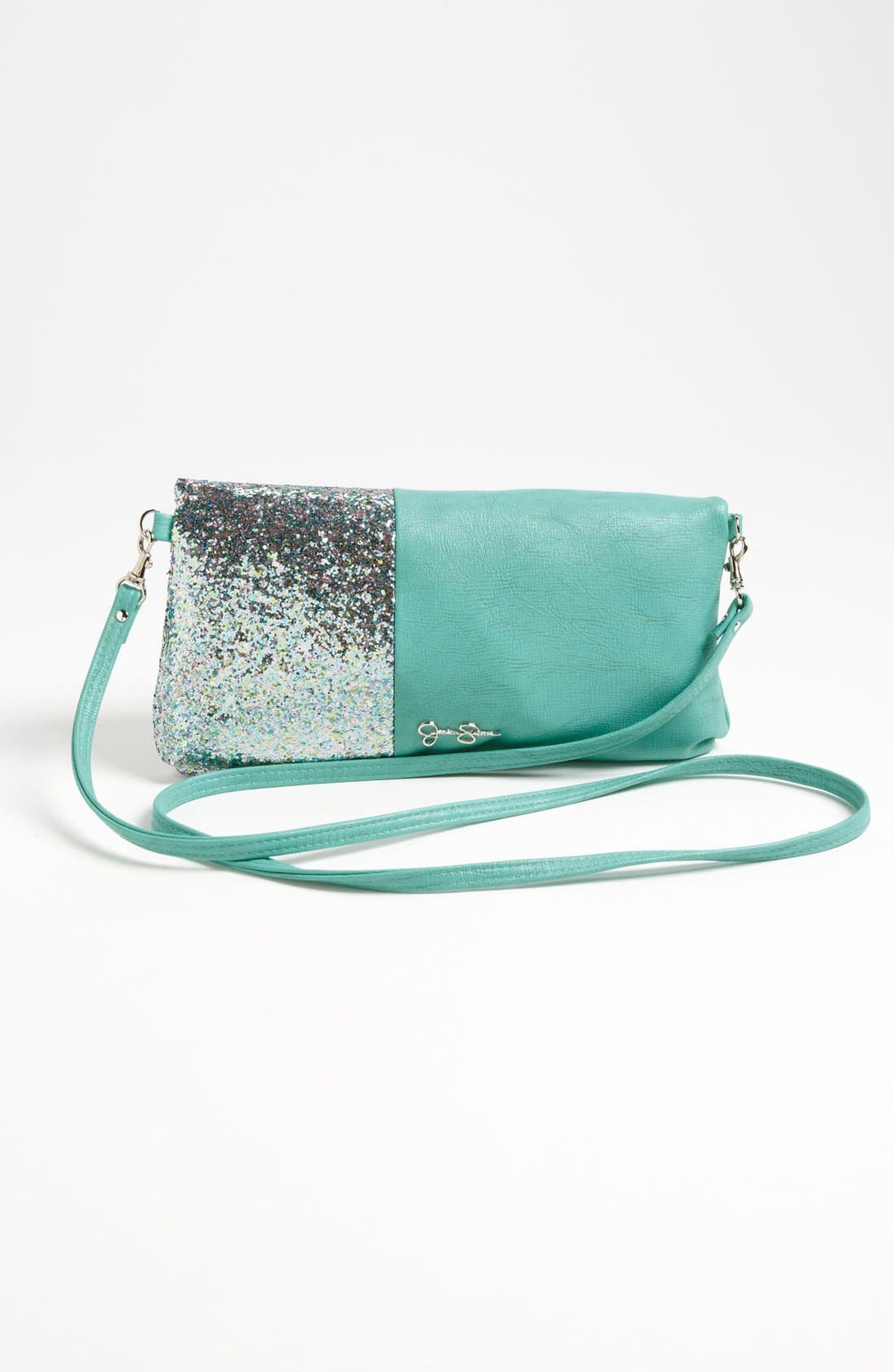 Alternate Image 4  - Jessica Simpson 'Stella' Framed Foldover Clutch