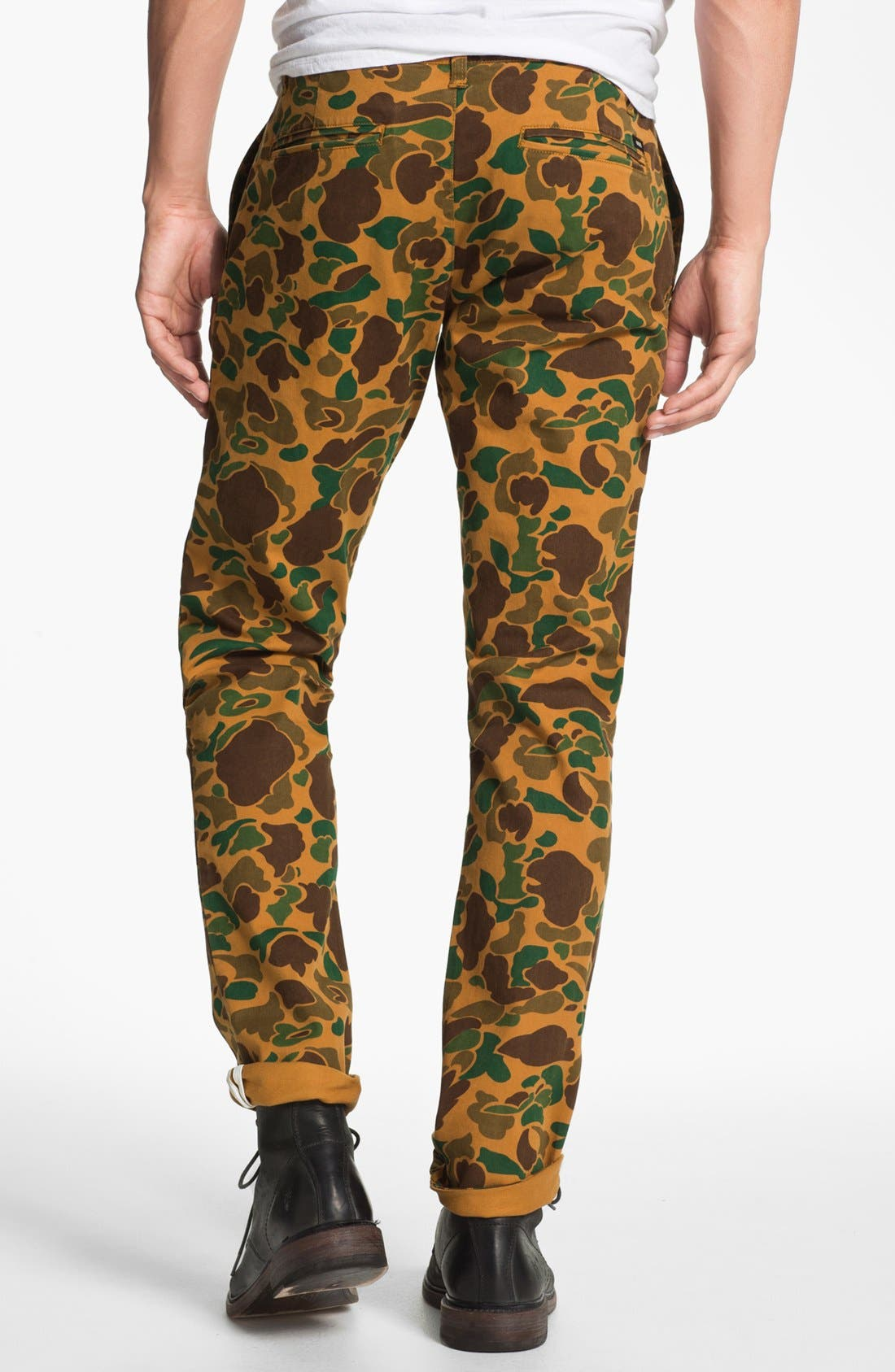 Alternate Image 2  - Obey 'Layover' Slim Straight Leg Chinos