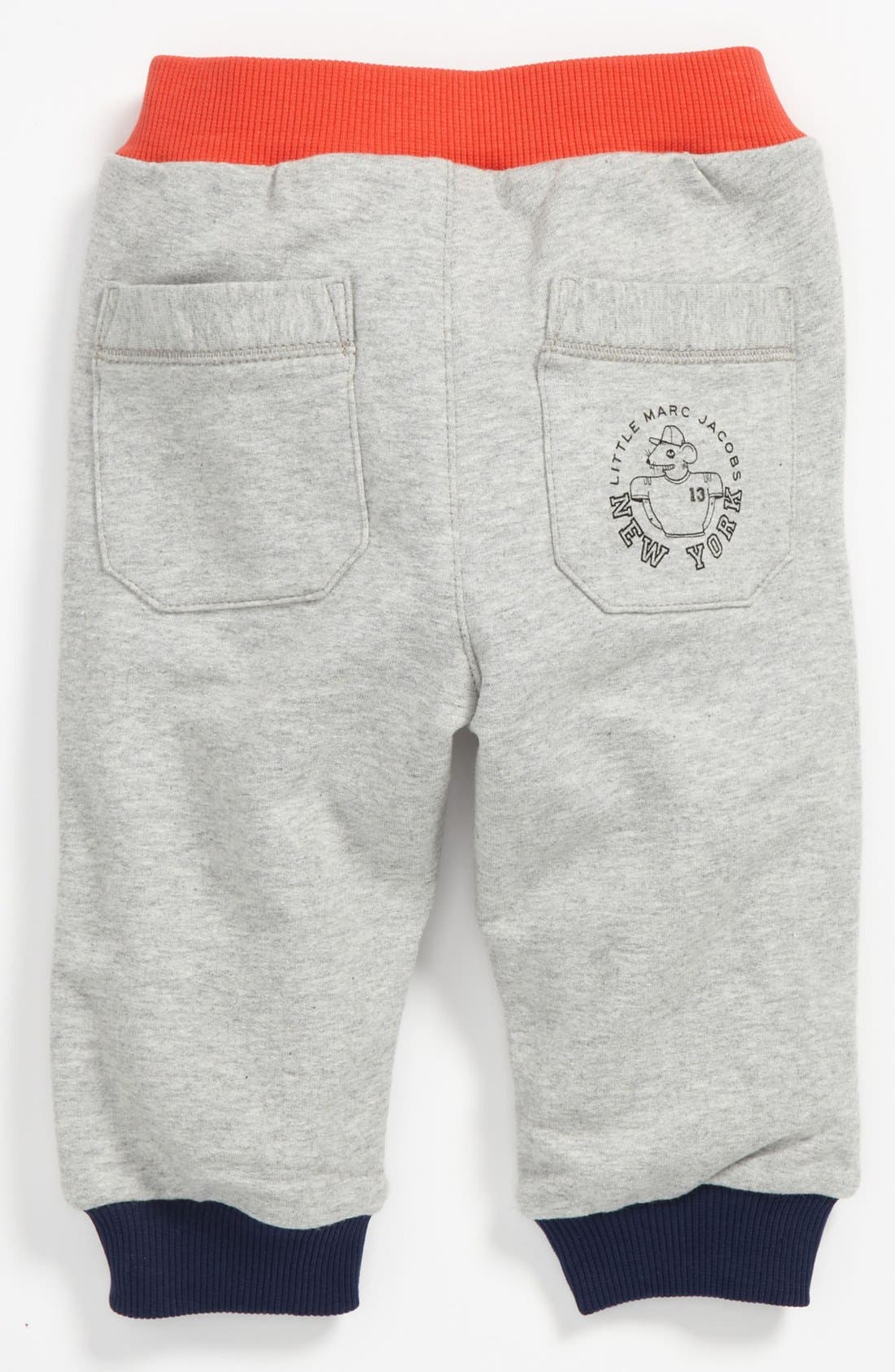 Alternate Image 2  - LITTLE MARC JACOBS Pants (Baby)