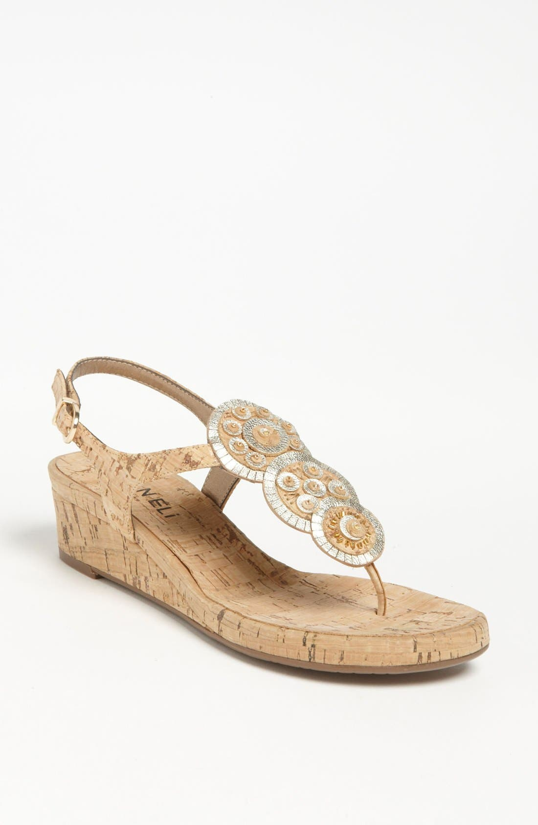 Main Image - VANELi 'Kalinda' Wedge Sandal