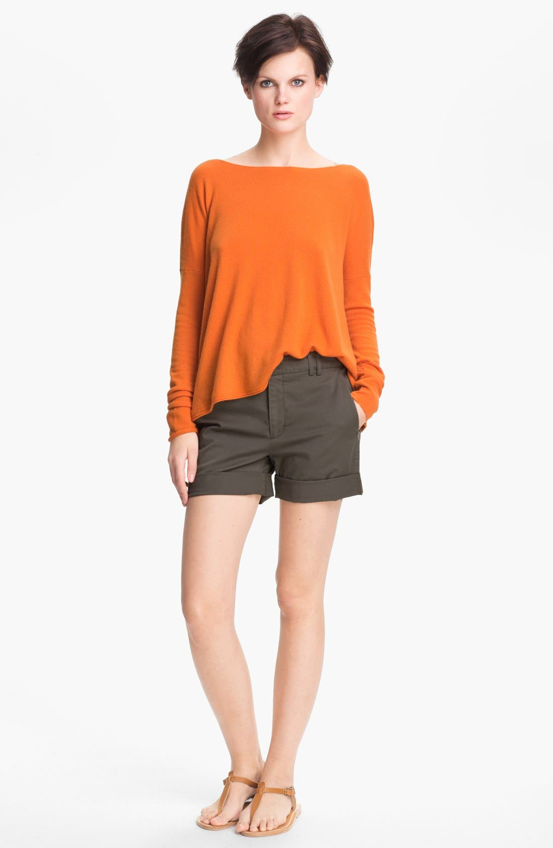 Alternate Image 1 Selected - Vince Boatneck Cashmere Sweater