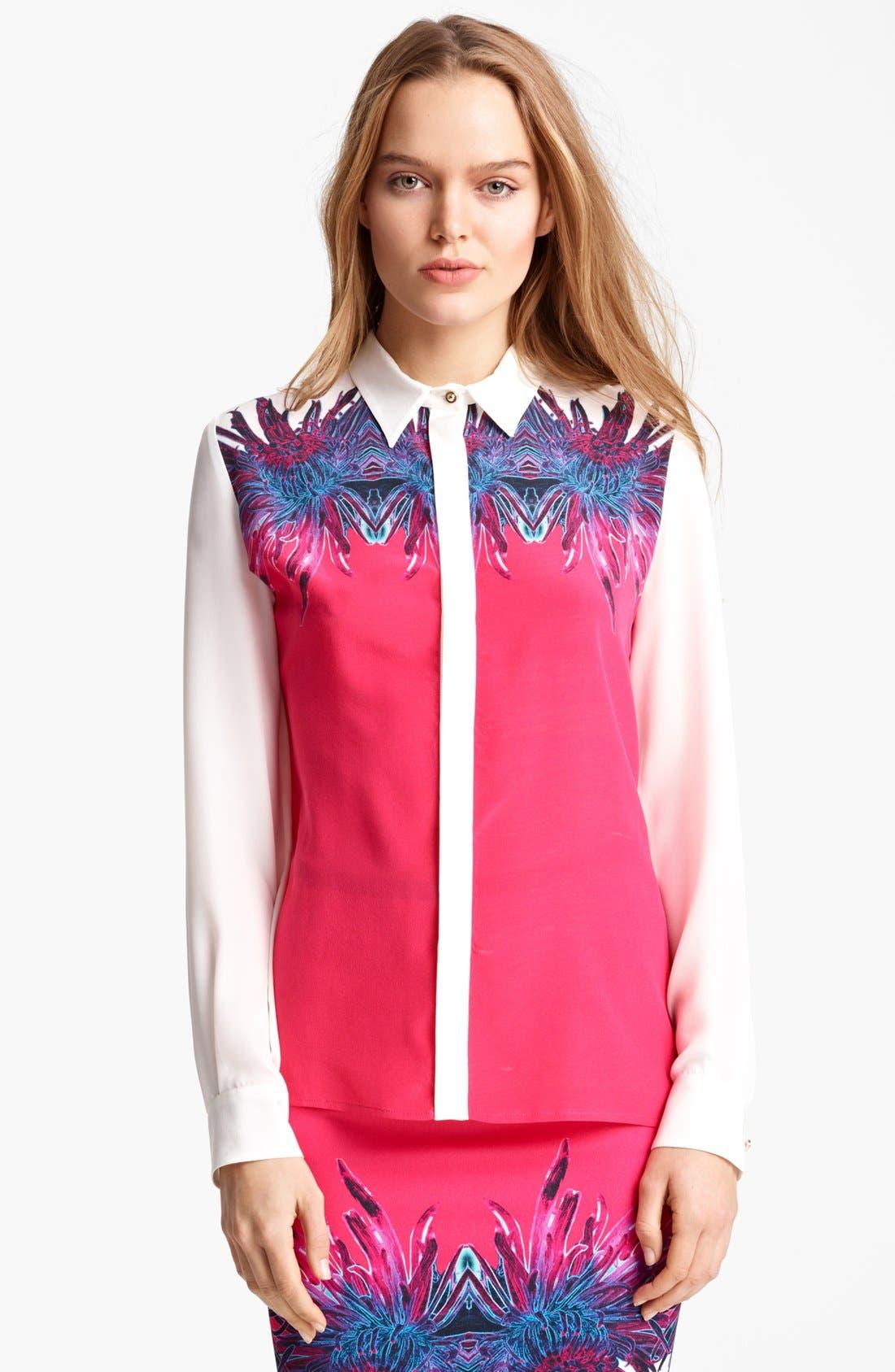 Alternate Image 1 Selected - Roberto Cavalli Blouse & Skirt