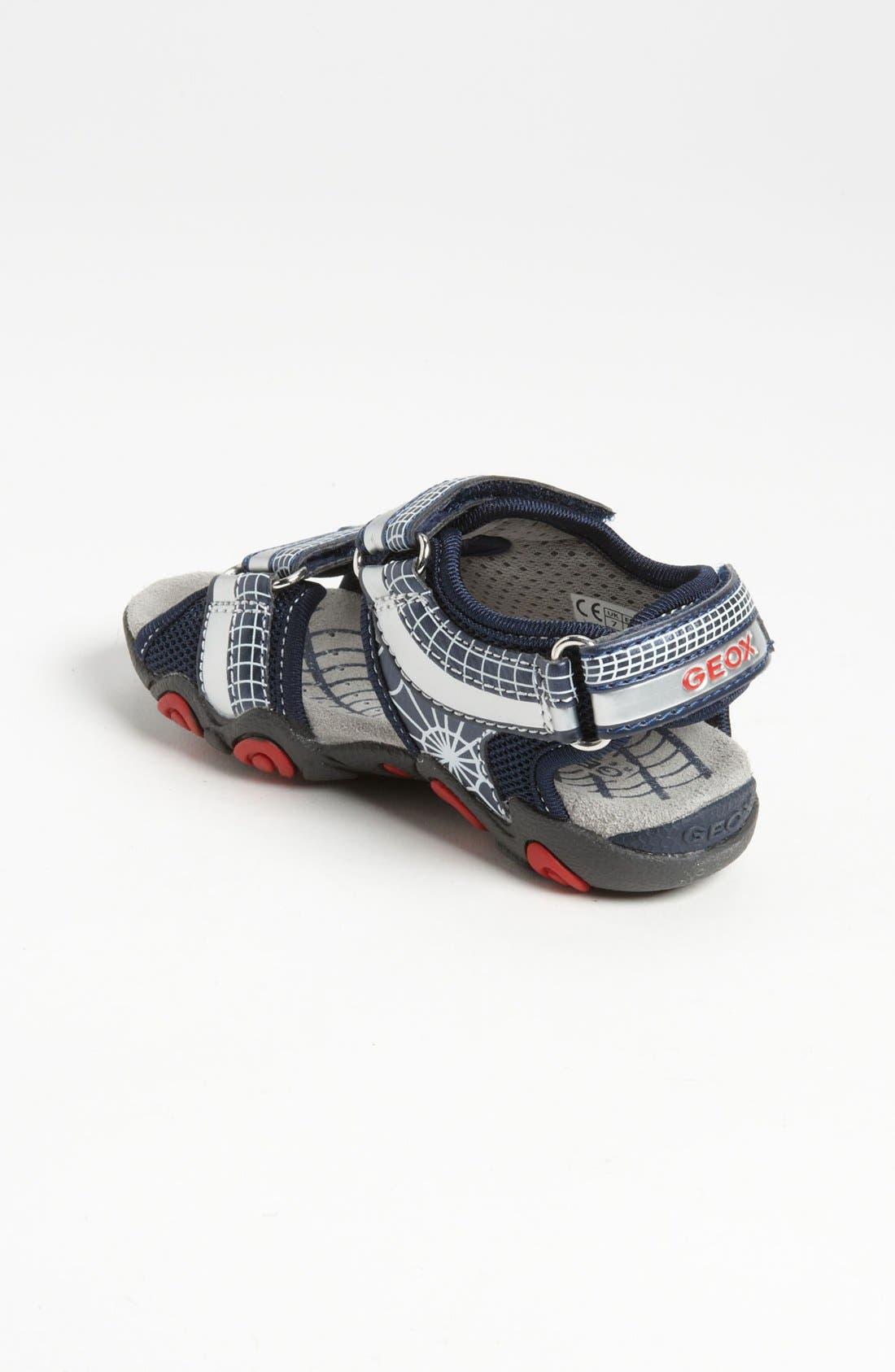 Alternate Image 2  - Geox 'Strike' Sandal (Toddler)