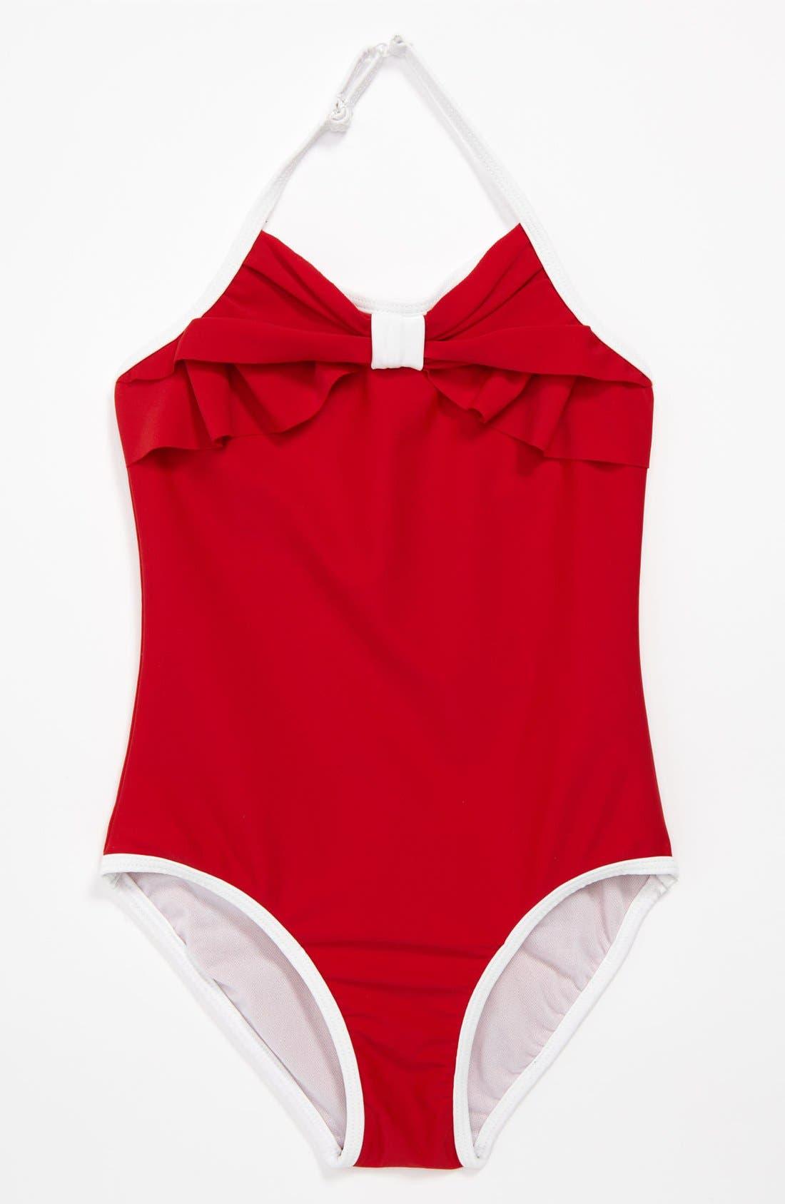 Alternate Image 1 Selected - Kate Mack One Piece Swimsuit (Big Girls)