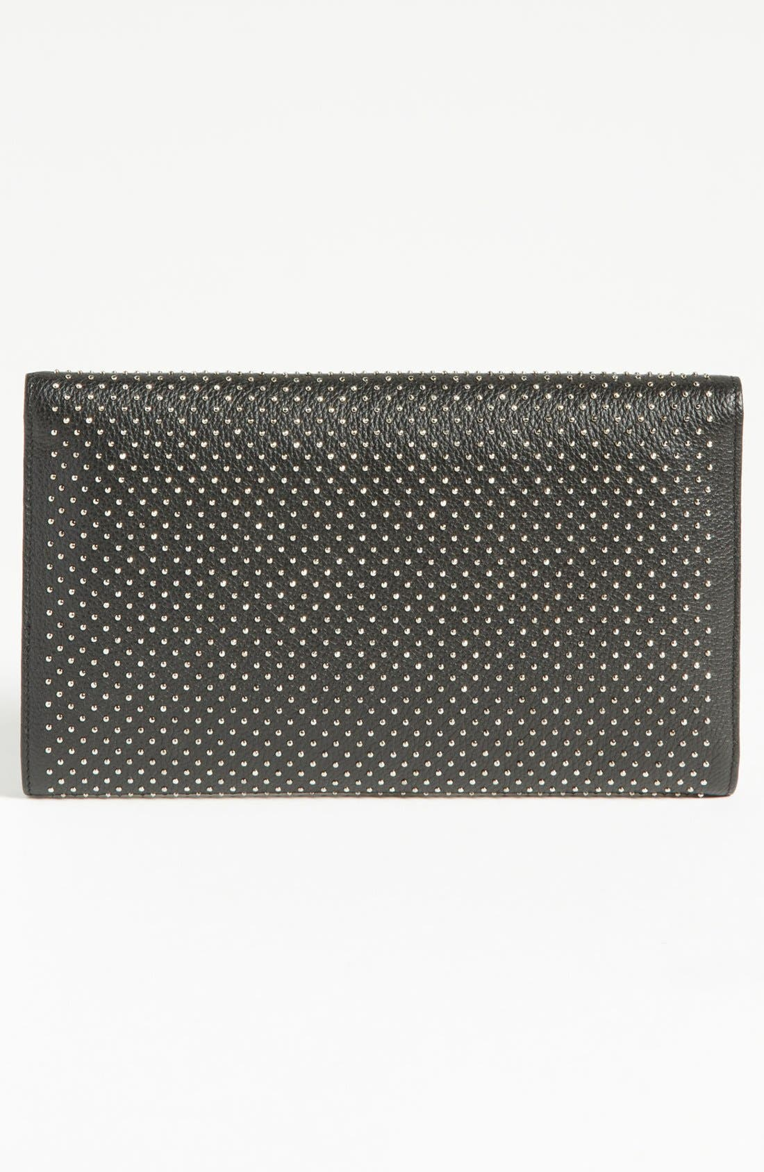 Alternate Image 4  - Jimmy Choo 'Reese - XL' Studded Leather Clutch