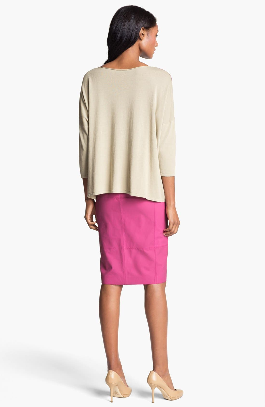 Alternate Image 5  - Lafayette 148 New York 'Opulent' Intarsia Sweater
