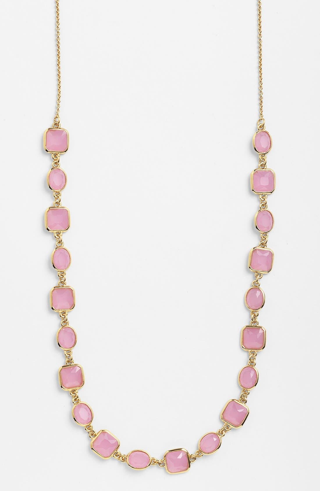 Main Image - kate spade new york 'coated confetti' long station necklace