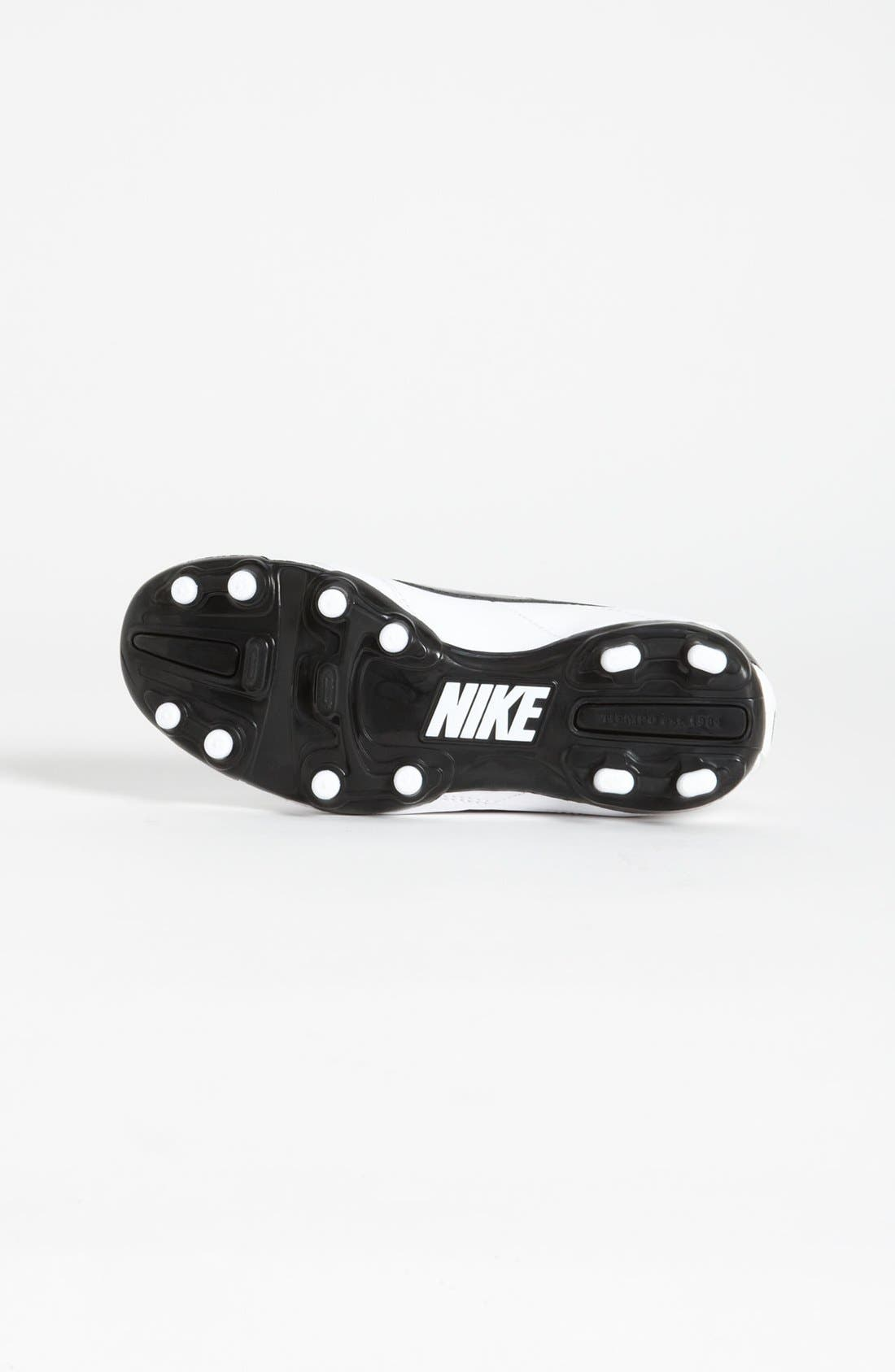 Alternate Image 4  - Nike 'Tiempo Natural IV Jr.' Soccer Shoe (Little Kid & Big Kid)