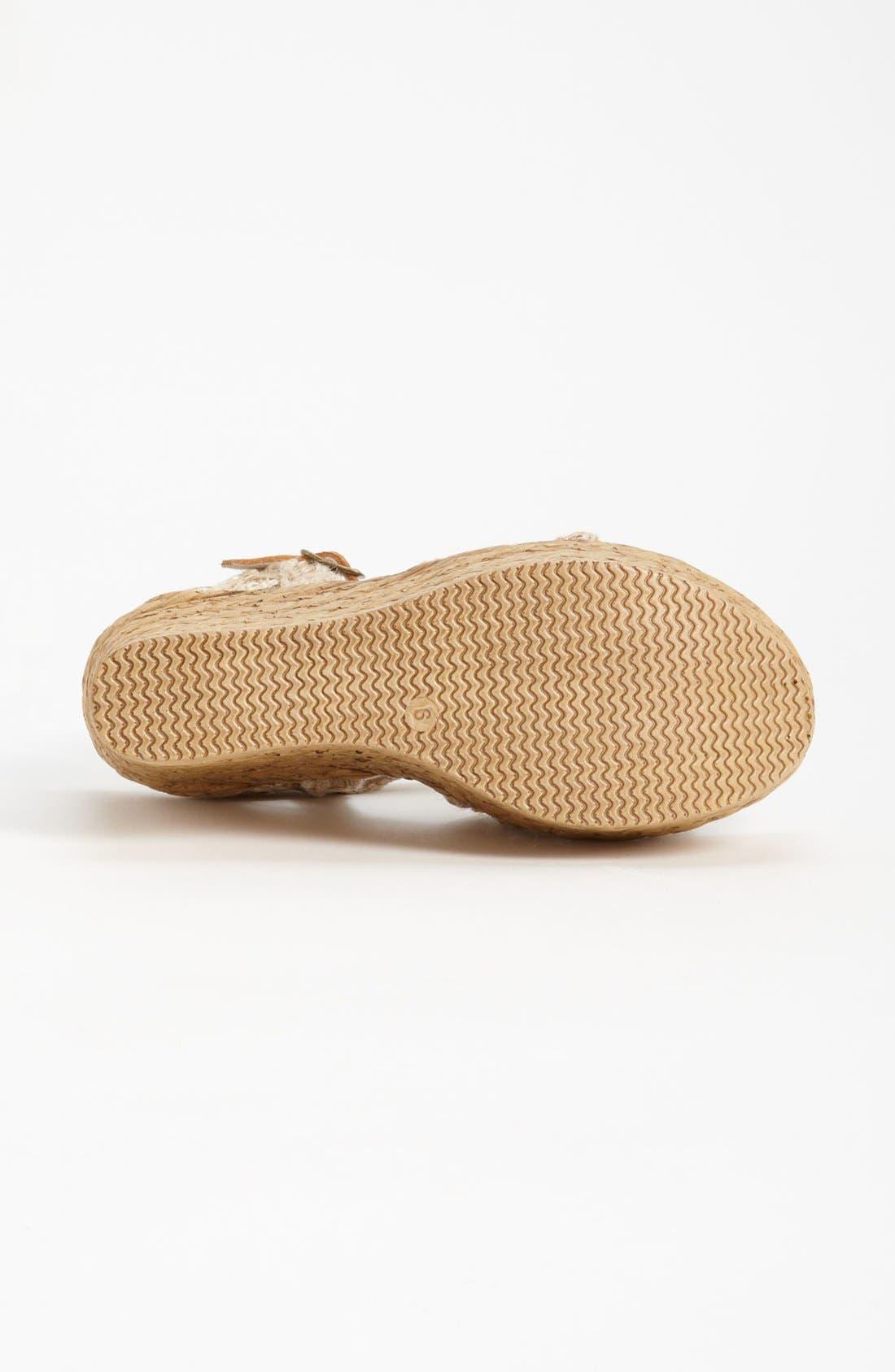 Alternate Image 4  - Sbicca 'Whimsical' Wedge Sandal