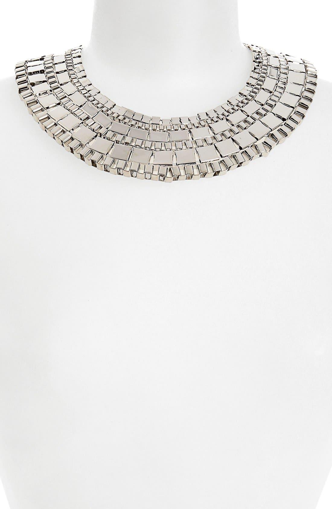 Main Image - Topshop Chunky Box Collar Necklace