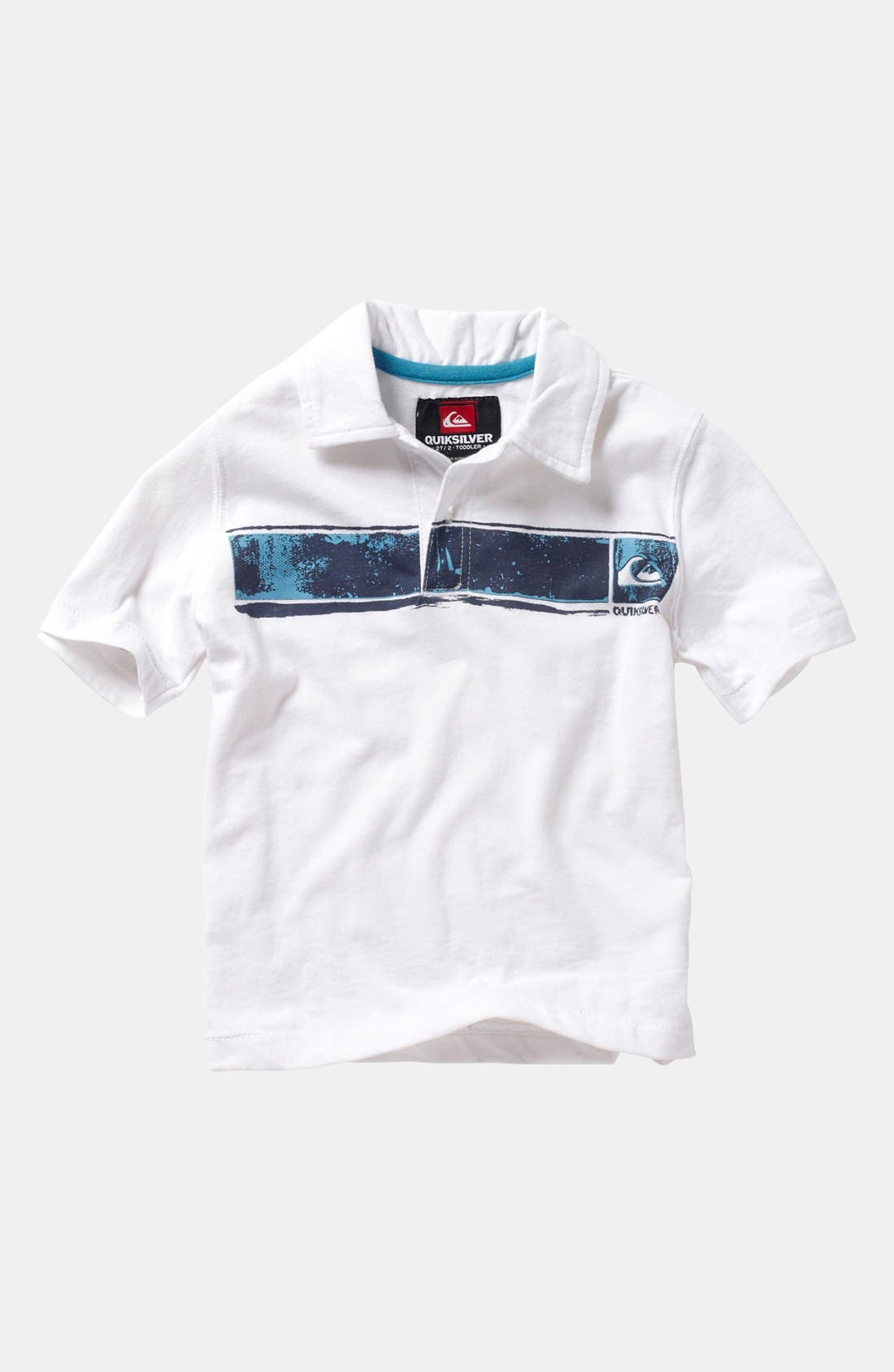 Alternate Image 1 Selected - Quiksilver 'Boston Says' Polo (Baby)