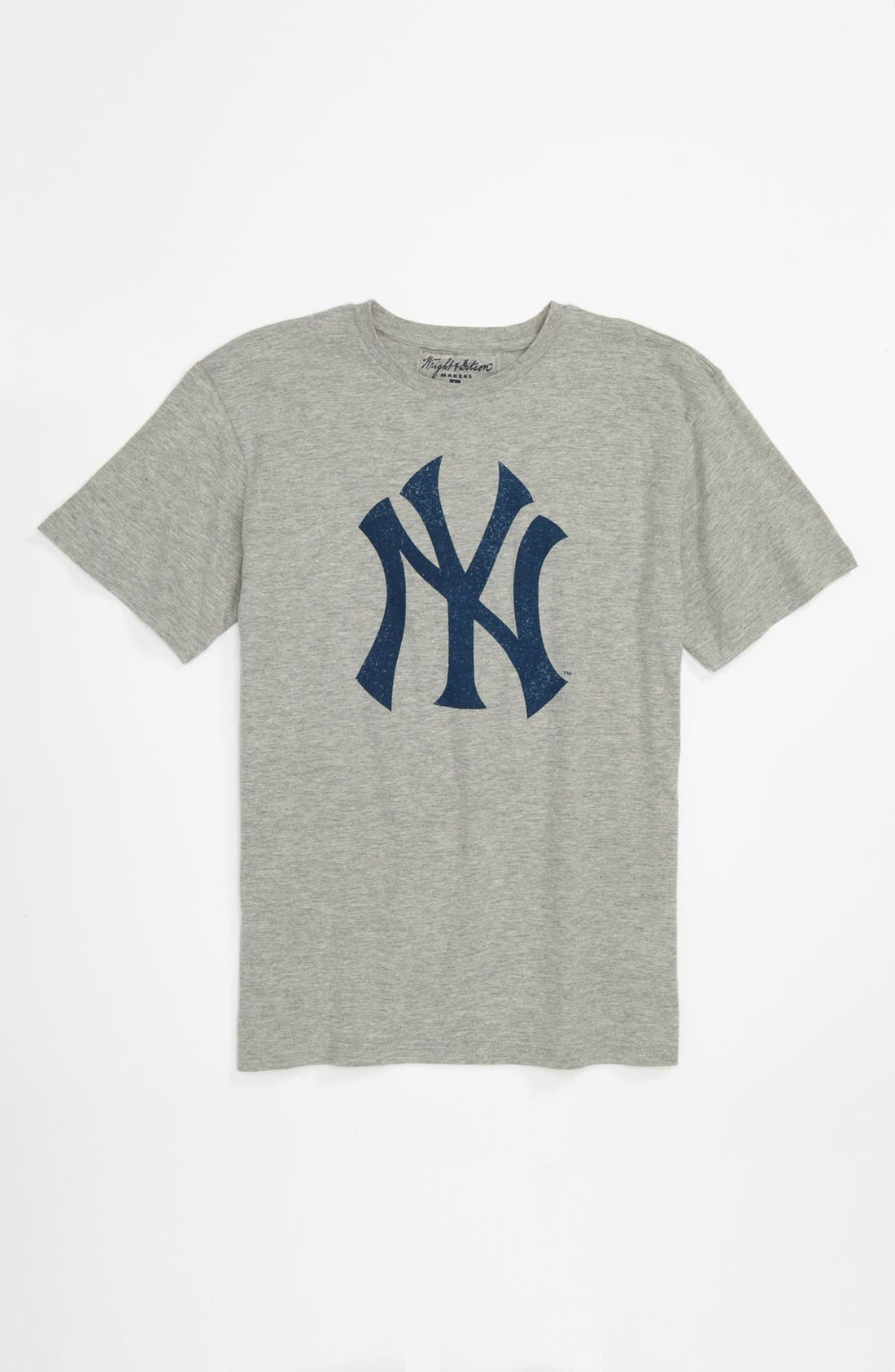 Alternate Image 1 Selected - Wright & Ditson 'New York Yankees' T-Shirt (Little Boys & Big Boys)