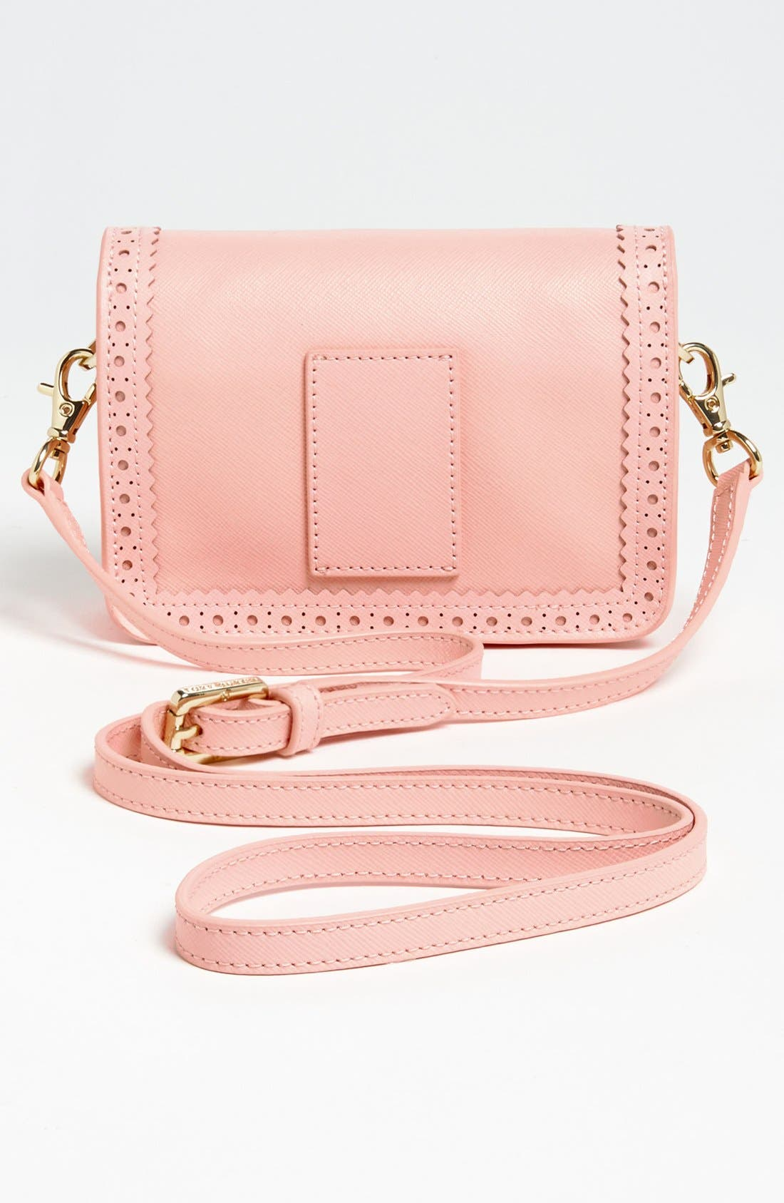 Alternate Image 4  - Tory Burch 'Robinson Spectator - Mini' Saffiano Leather Crossbody Bag