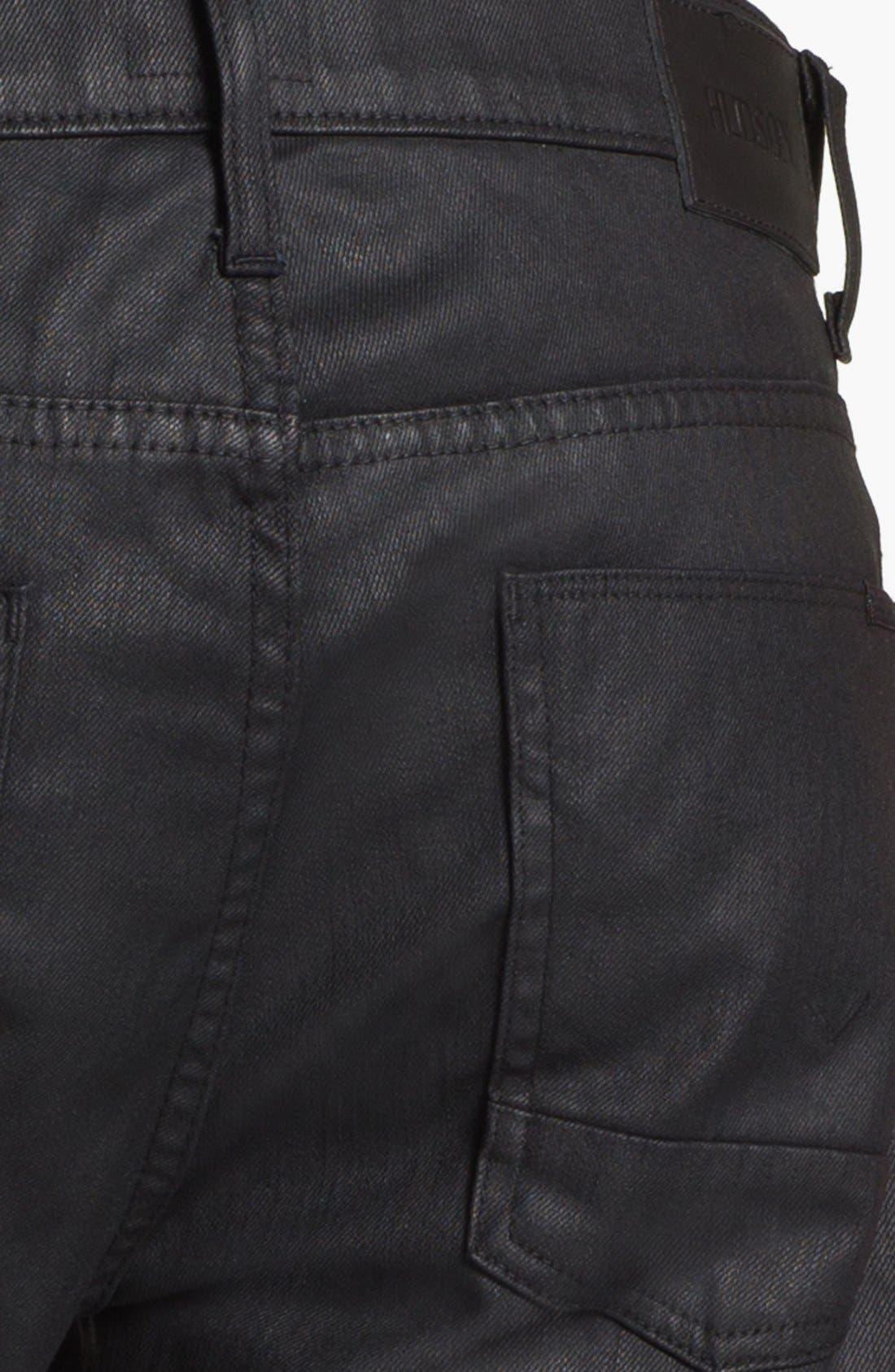 Alternate Image 4  - Hudson Jeans 'Dandy' Slouchy Straight Leg Jeans (Tar)