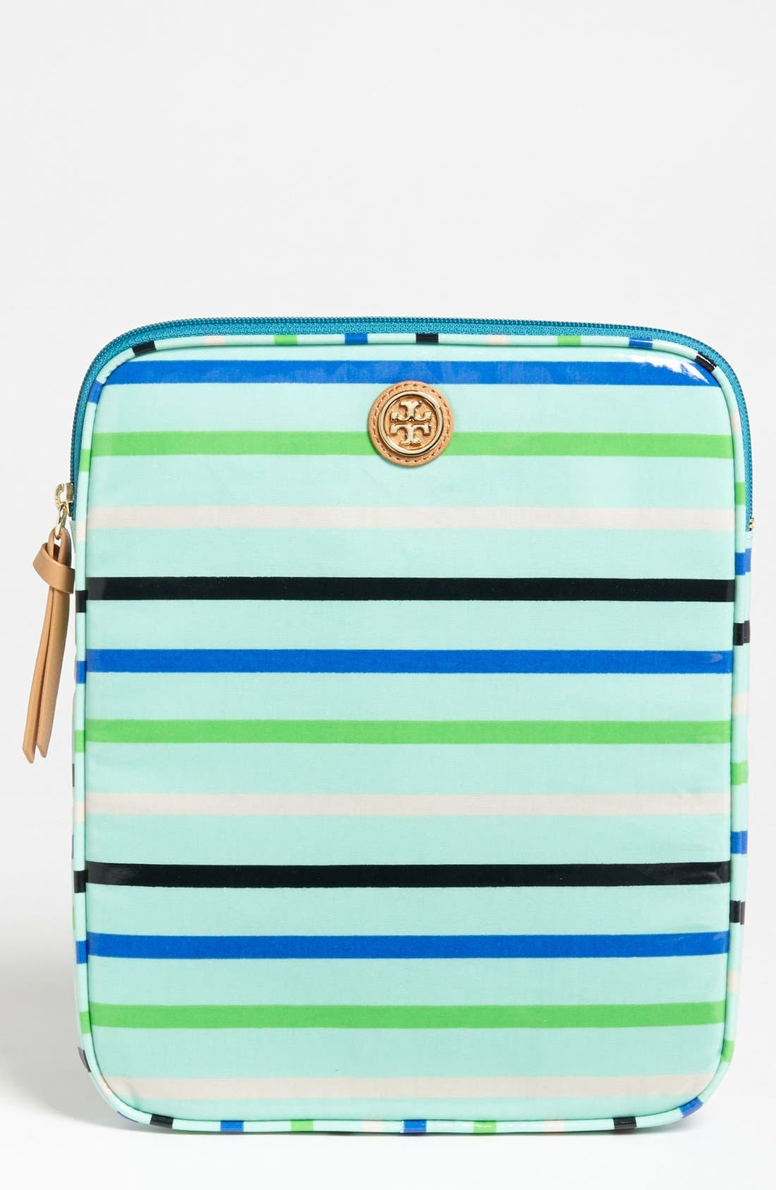 Alternate Image 1 Selected - Tory Burch Coated Poplin Tablet Sleeve