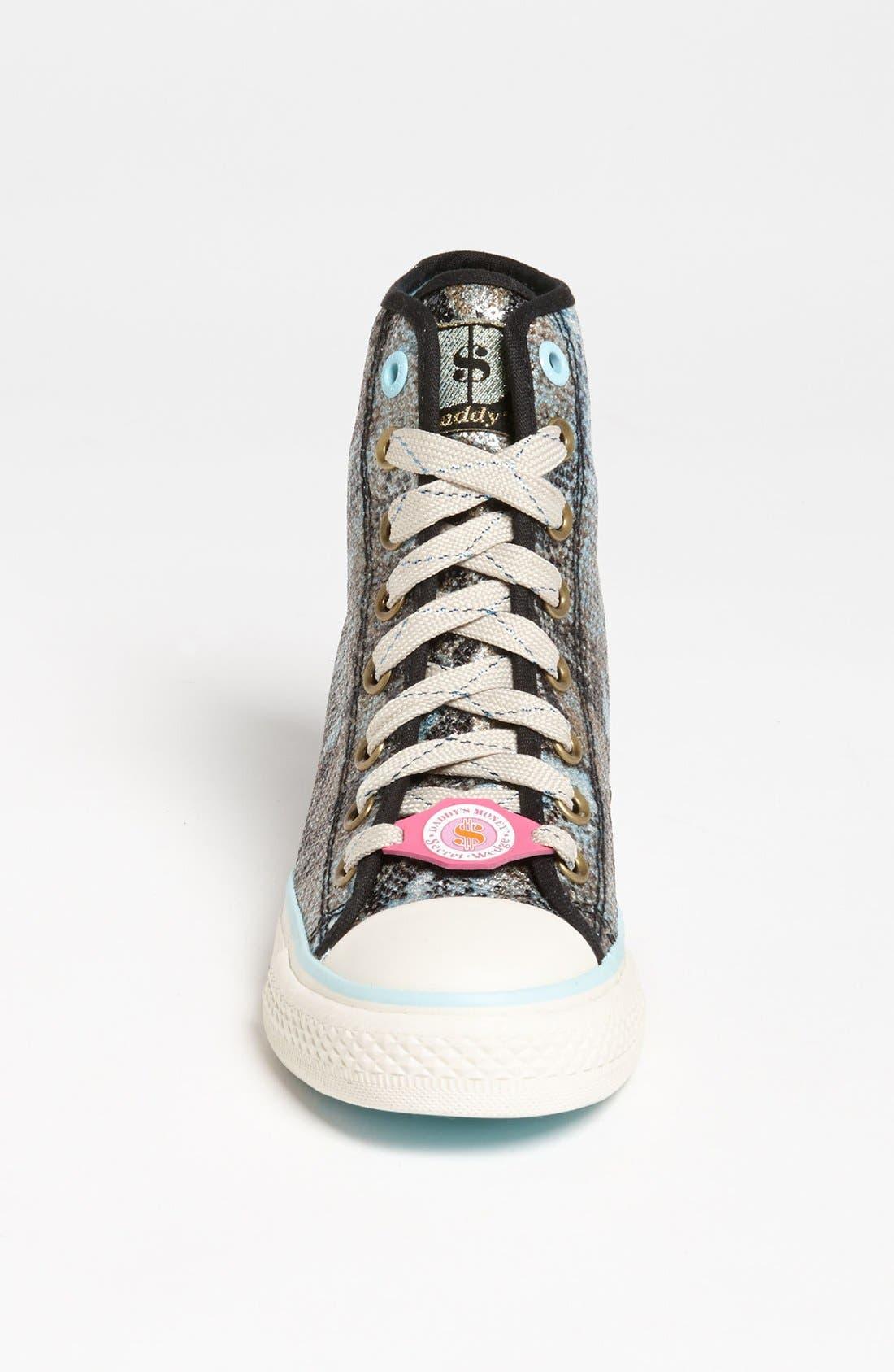 Alternate Image 3  - SKECHERS 'Daddy's Money - Gimme' Wedge Sneaker