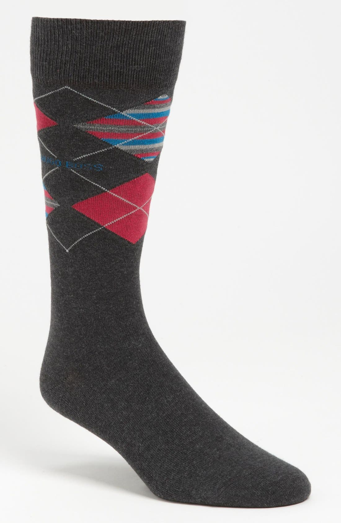 Main Image - BOSS HUGO BOSS Combed Cotton Blend Socks