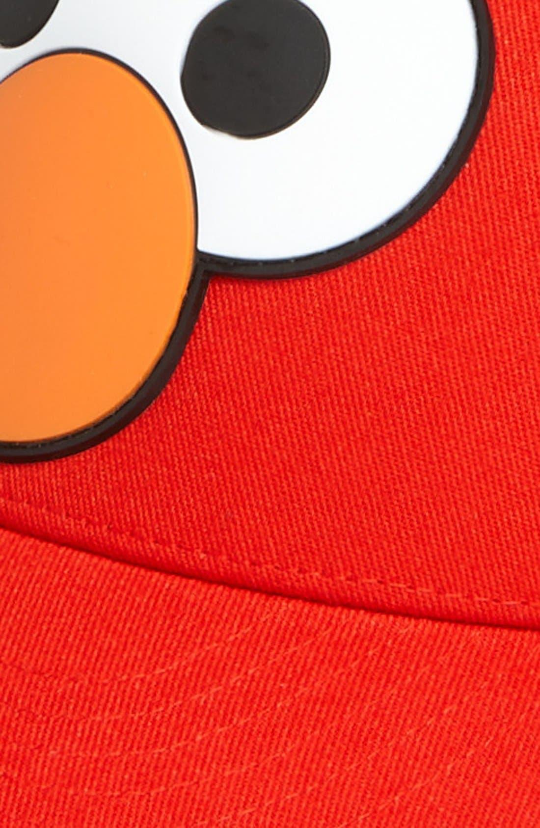 Alternate Image 2  - Sesame Street® Headwear 'Elmo™' Baseball Cap (Toddler)