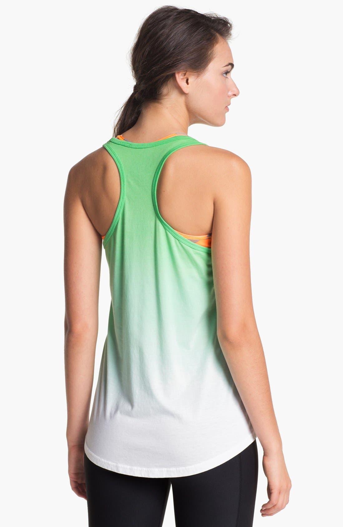 Alternate Image 2  - Nike 'Dip Dye Swoosh' Tank