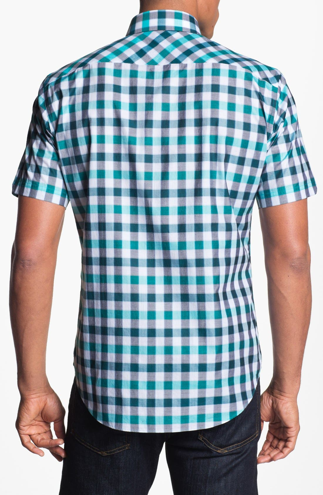 Alternate Image 2  - Zachary Prell 'Minamoto' Short Sleeve Sport Shirt