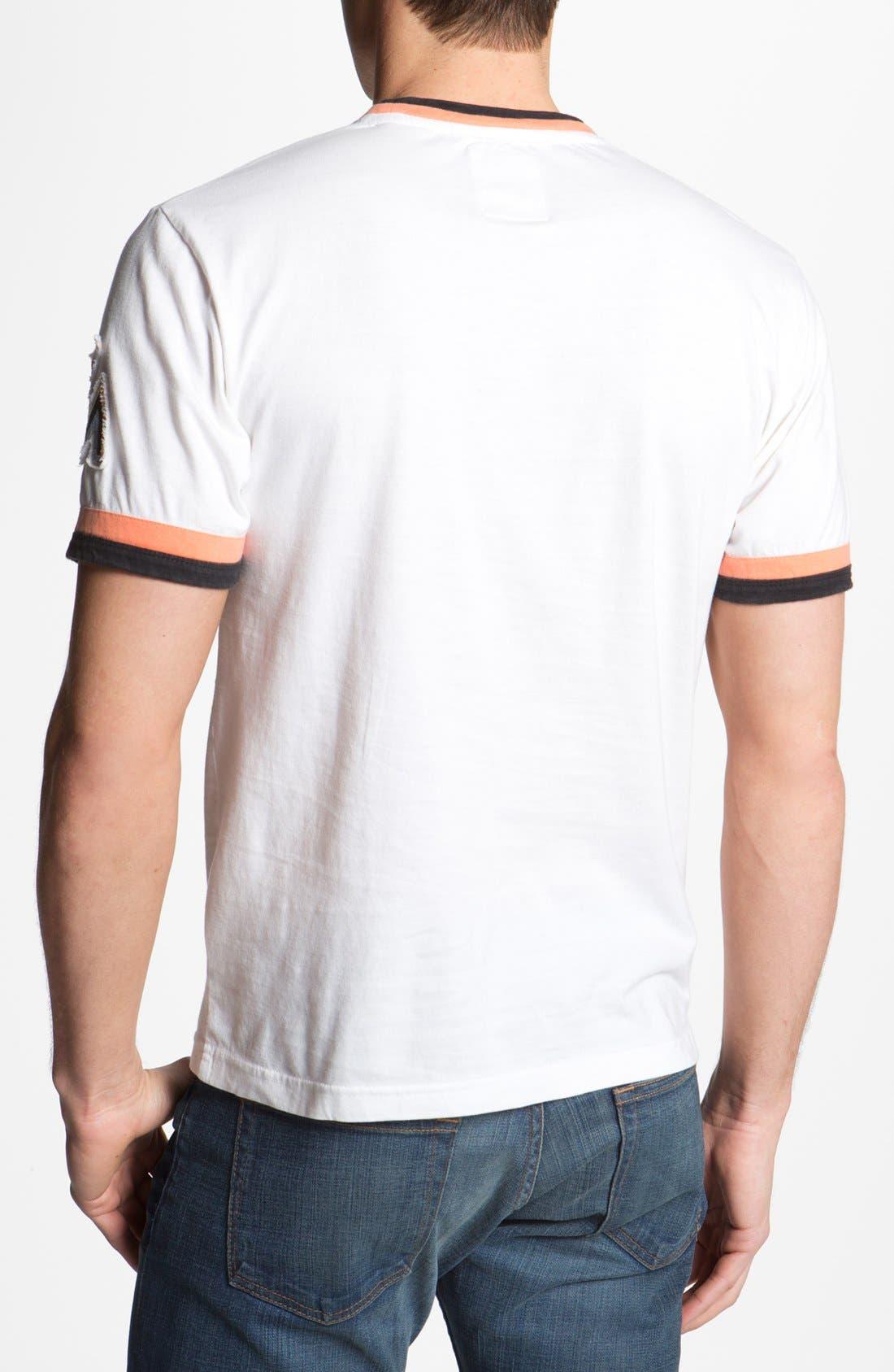Alternate Image 2  - Red Jacket 'Marlins - Remote Control' T-Shirt