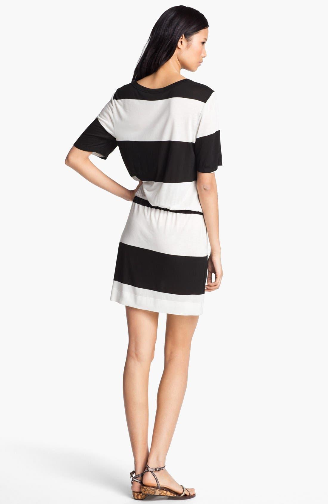Alternate Image 2  - A.L.C. 'Finn' Stripe Dress