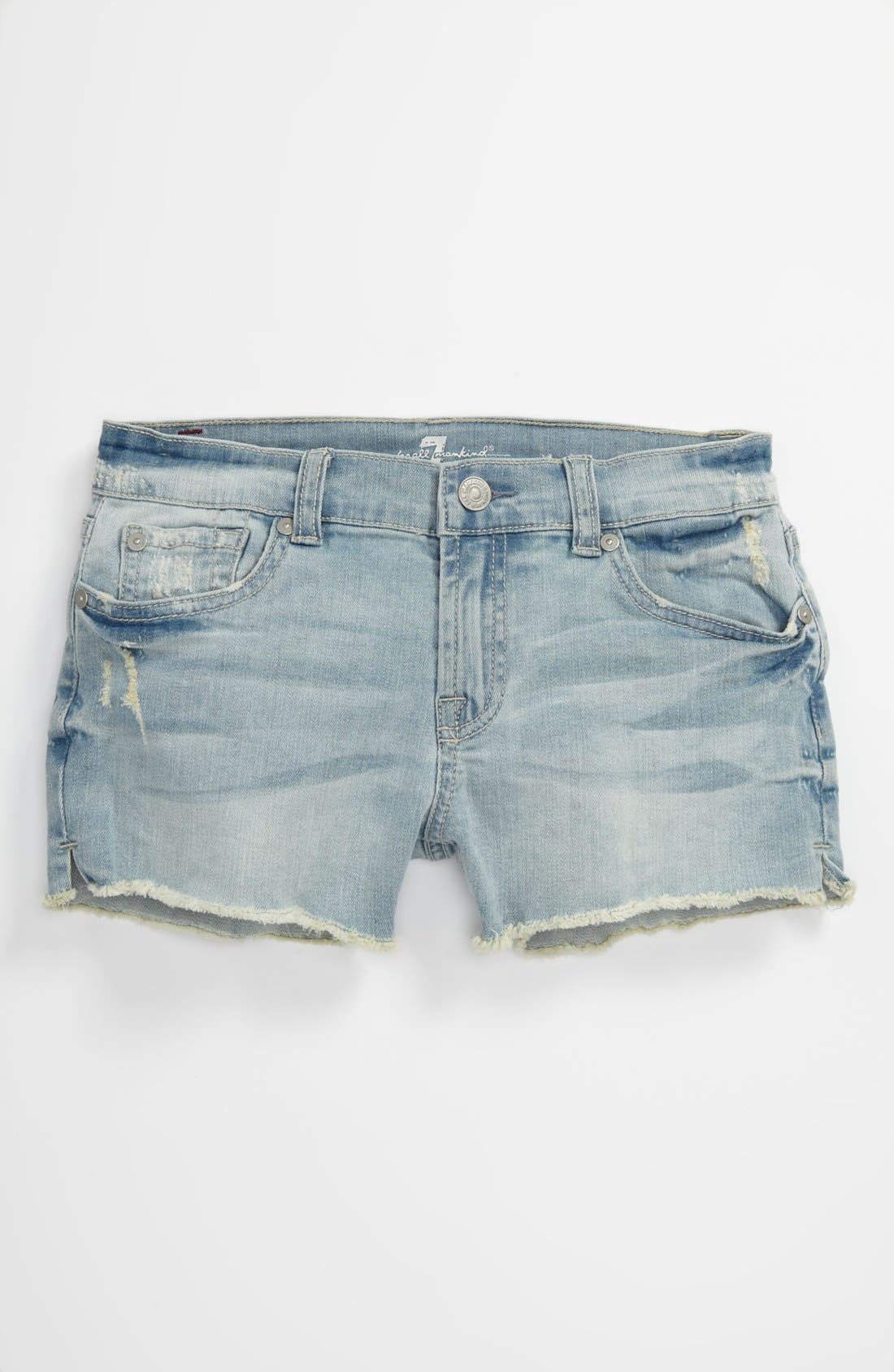 Alternate Image 2  - 7 For All Mankind® 'Del Shorty' Shorts (Big Girls)