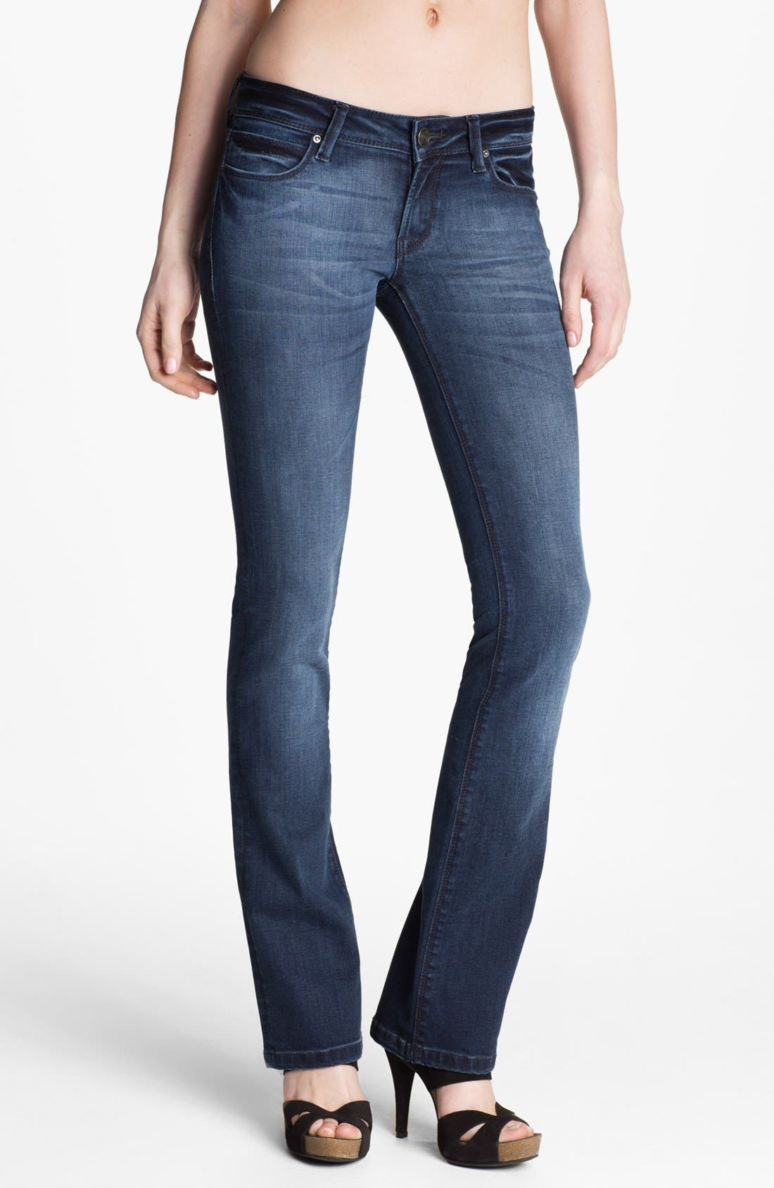 Alternate Image 1 Selected - DL1961 'Cindy Bell' Slim Bootcut Jeans (Stanton)