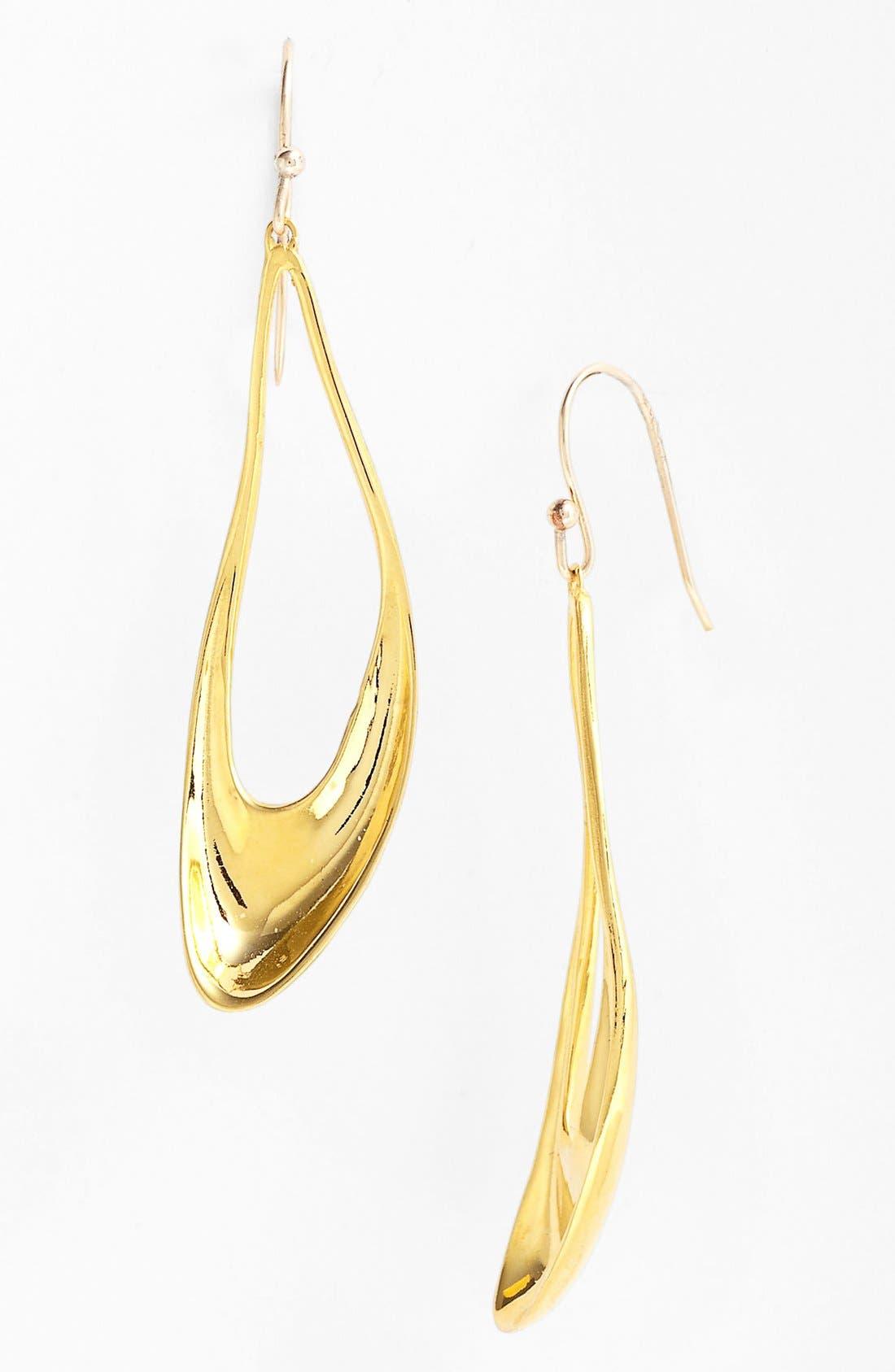 Main Image - Alexis Bittar 'Miss Havisham - Liquid Gold' Open Teardrop Earrings