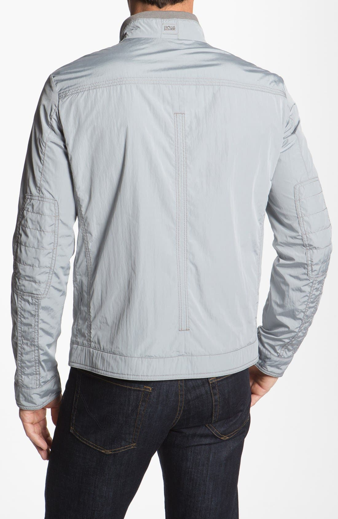 Alternate Image 2  - BOSS Black 'Capontz' Crinkle Techno Jacket