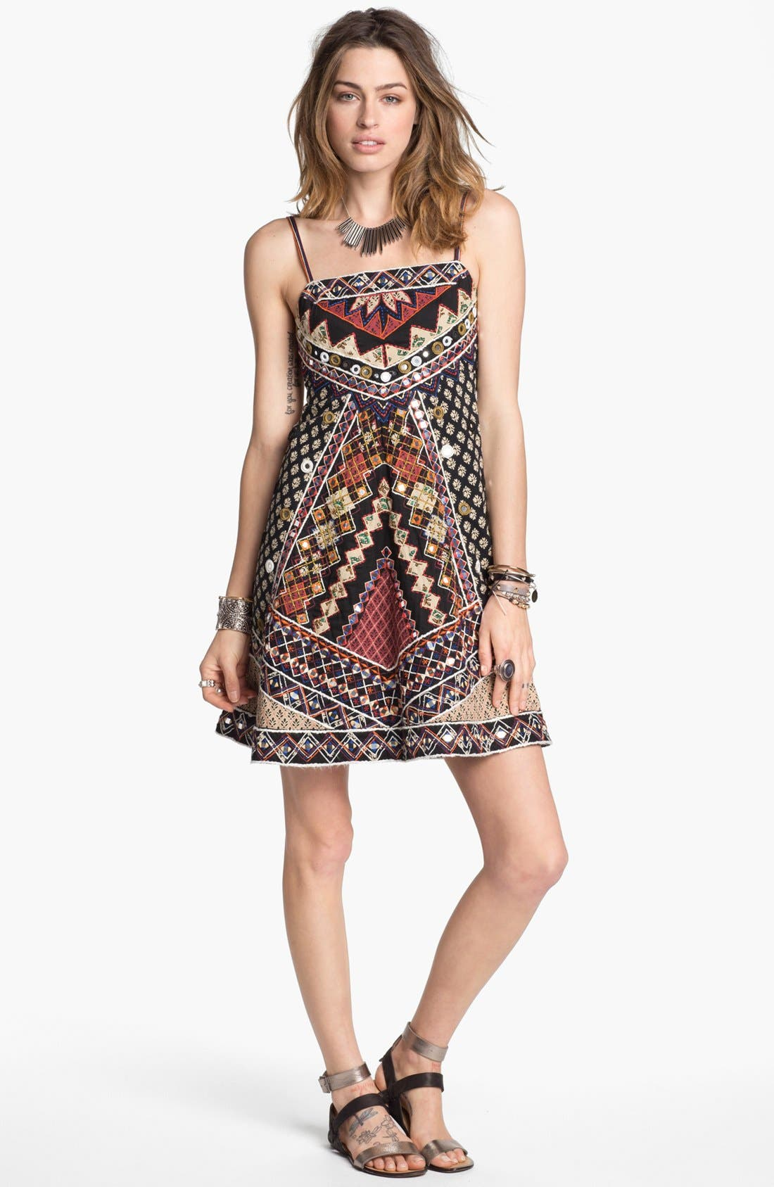 Main Image - Free People 'Mirror Maze' Dress