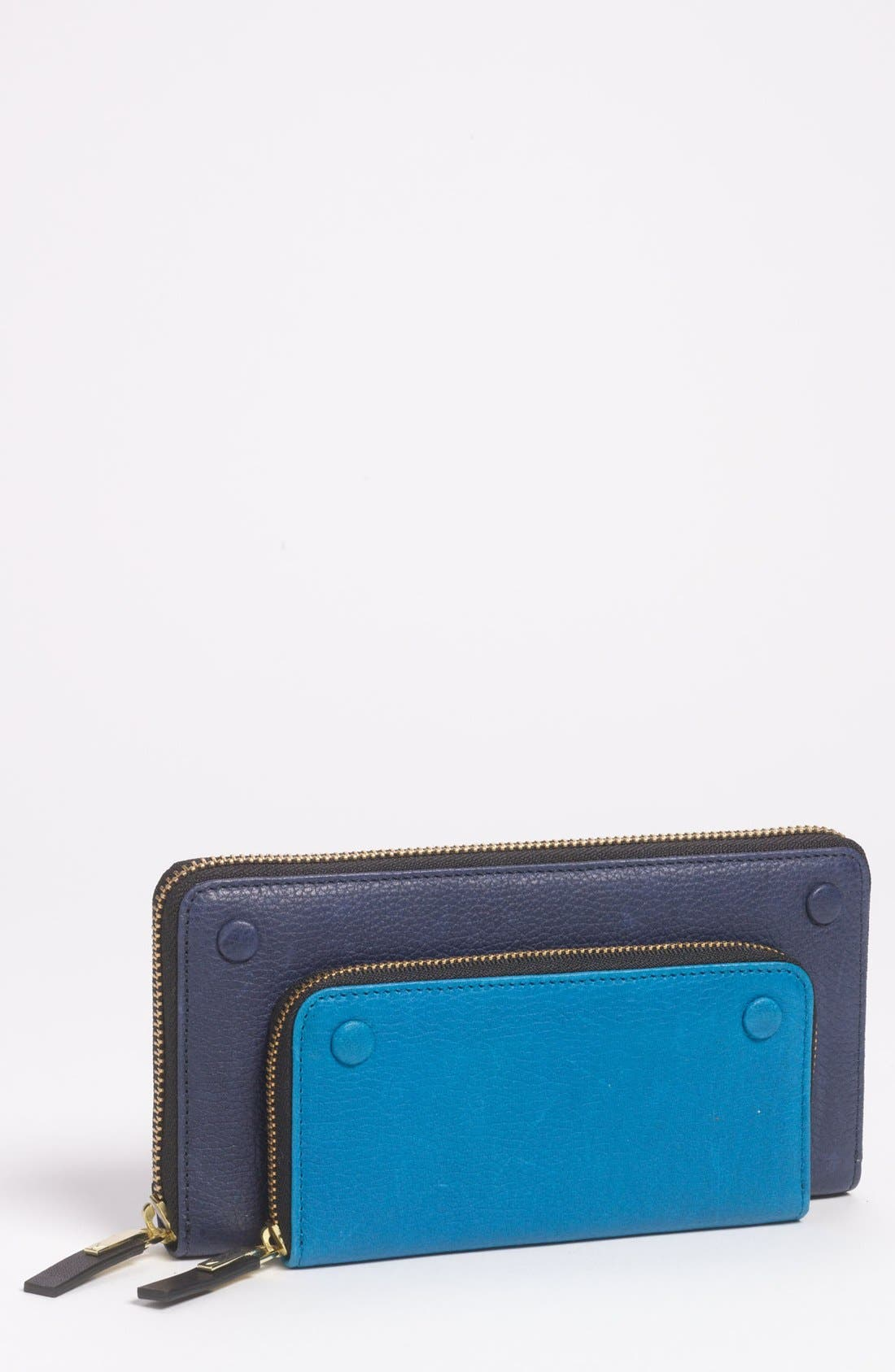 Alternate Image 1 Selected - Vince Camuto 'Mikey' Zip Around Wallet