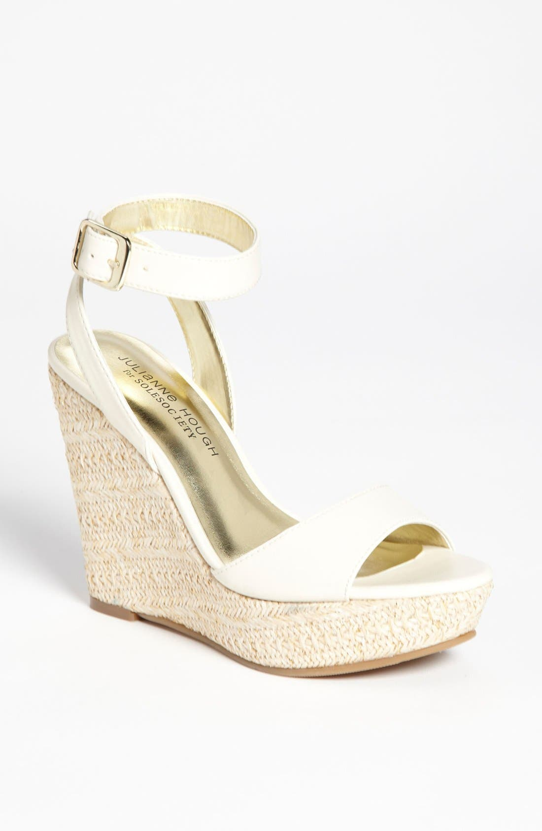 Alternate Image 1 Selected - Julianne Hough for Sole Society 'Adrienne' Wedge Sandal