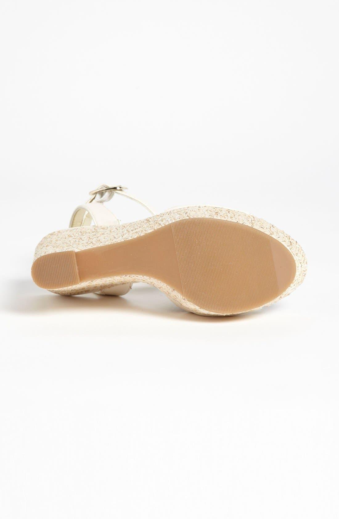 Alternate Image 4  - Julianne Hough for Sole Society 'Adrienne' Wedge Sandal
