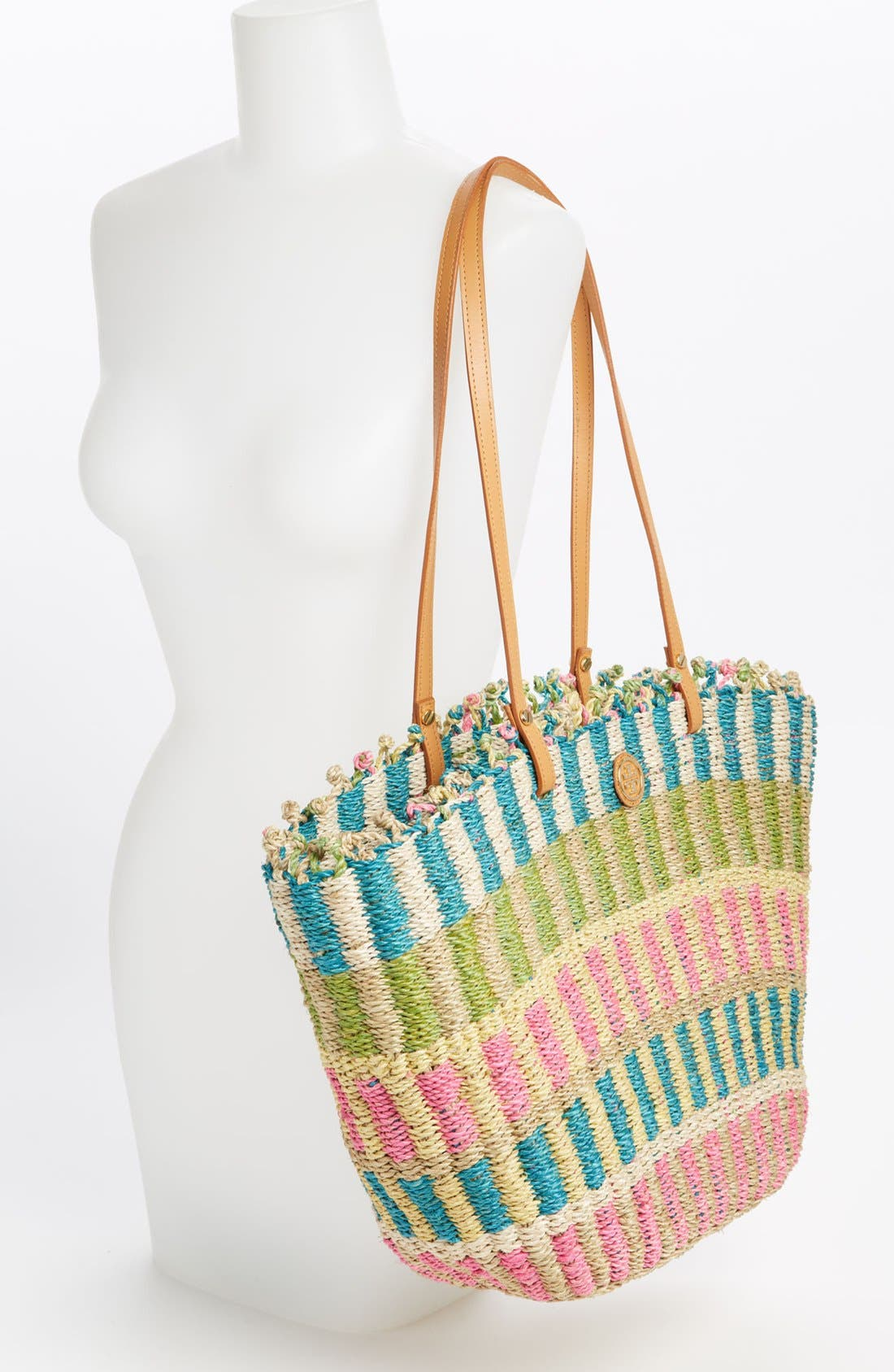 Alternate Image 2  - Tory Burch Straw Tote, Extra Large