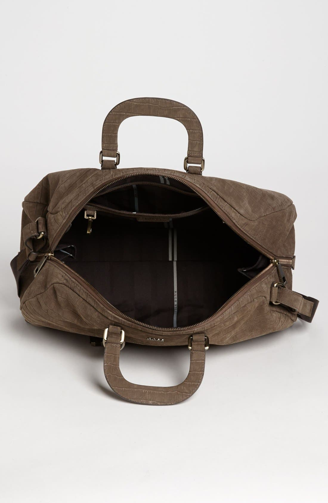 Alternate Image 3  - BOSS HUGO BOSS 'Rofert' Duffel Bag