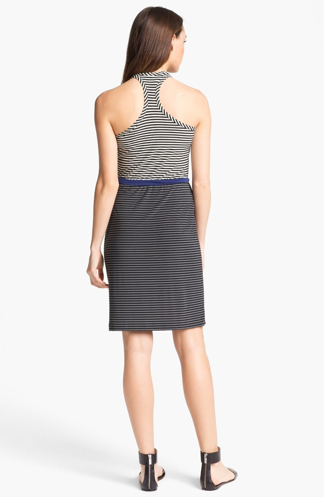 Alternate Image 2  - KAMALIKULTURE Stripe Racerback Tank Dress