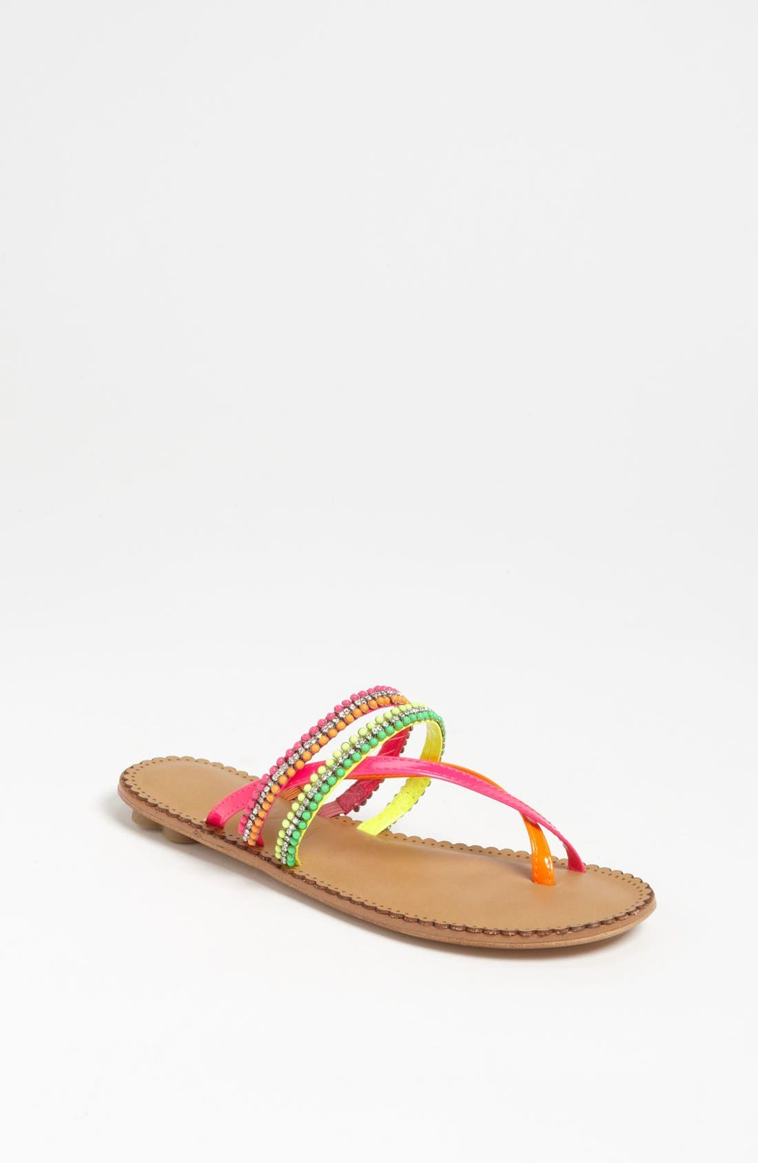 Alternate Image 1 Selected - Lucky Sole 'Piazza' Sandal (Little Kid & Big Kid)