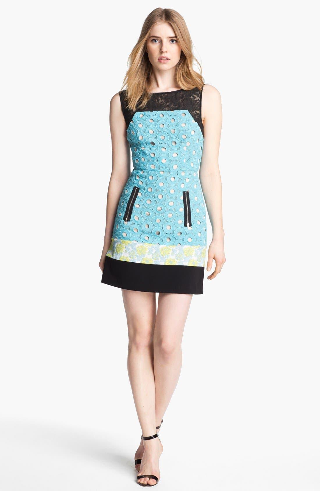 Main Image - Tracy Reese Mix Media Dress