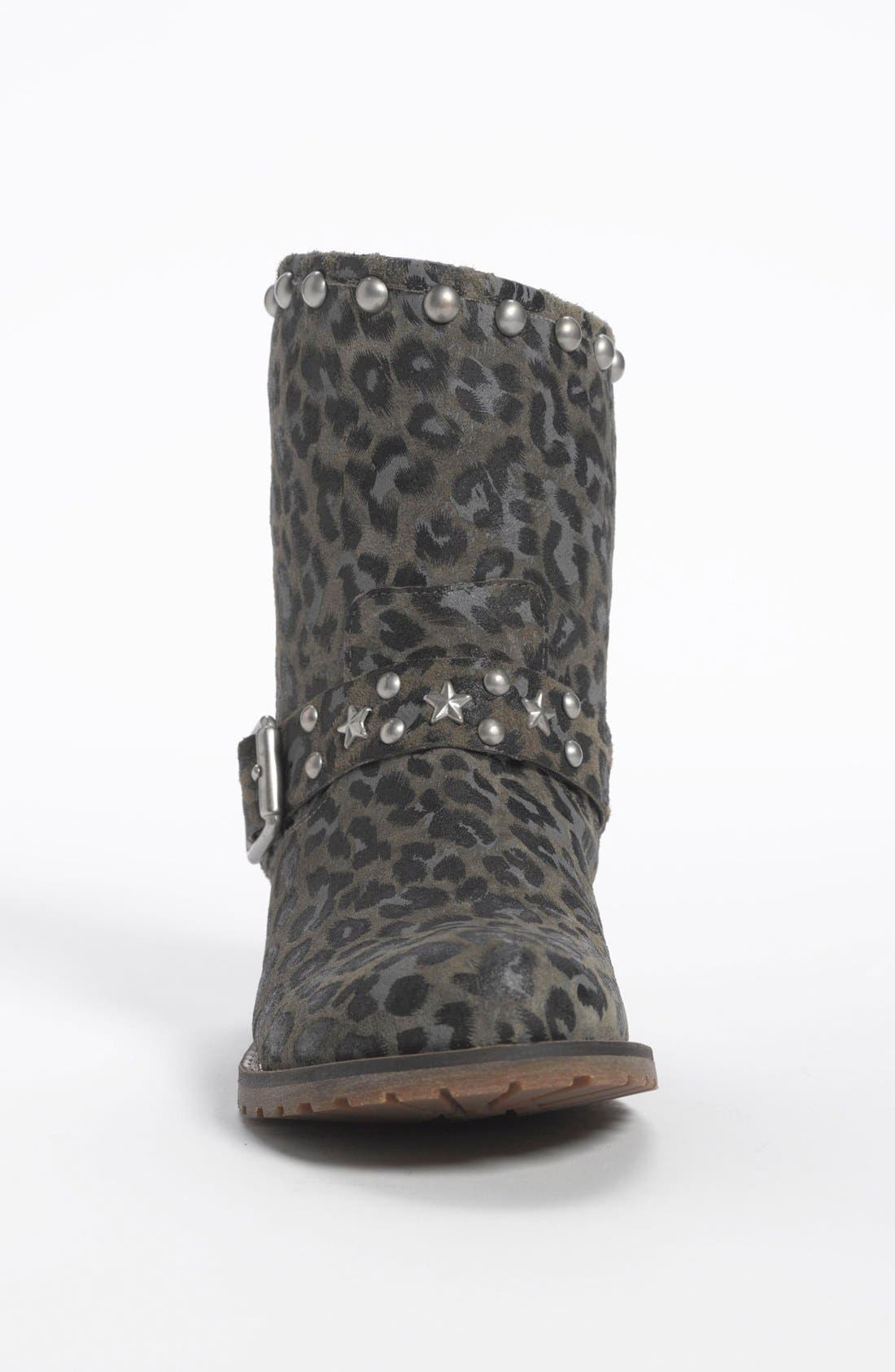 Alternate Image 3  - Nordstrom 'Dakota' Short Suede Stud Boot (Little Kid & Big Kid)