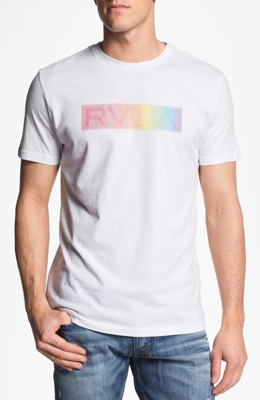 Alternate Image 1 Selected - RVCA 'Illusions' Graphic T-Shirt