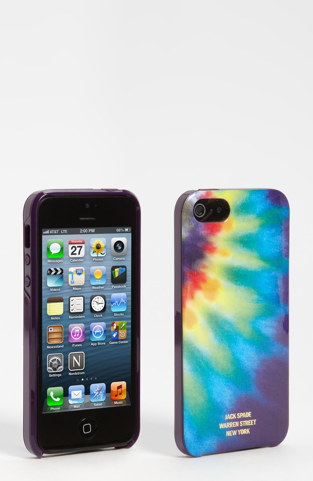 Alternate Image 1 Selected - Jack Spade 'Huxley Tie Dye' iPhone 5 Case