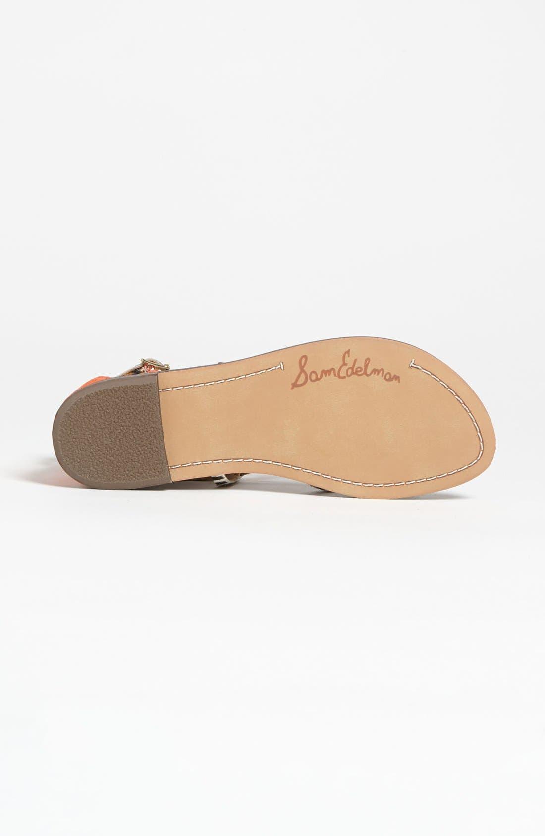 Alternate Image 4  - Sam Edelman 'Gable' Sandal