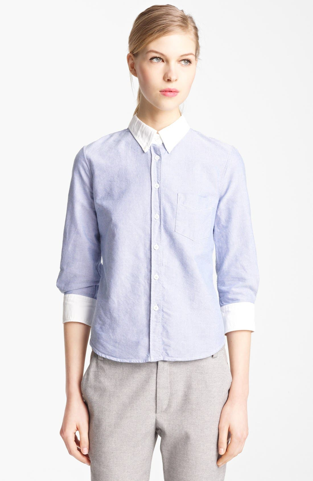 Alternate Image 1 Selected - Band of Outsiders Oxford Shirt