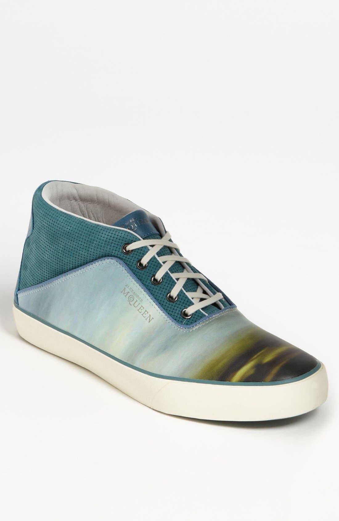 Alternate Image 1 Selected - PUMA 'Alexander McQueen - Amqdek Mid II' Sneaker (Men)
