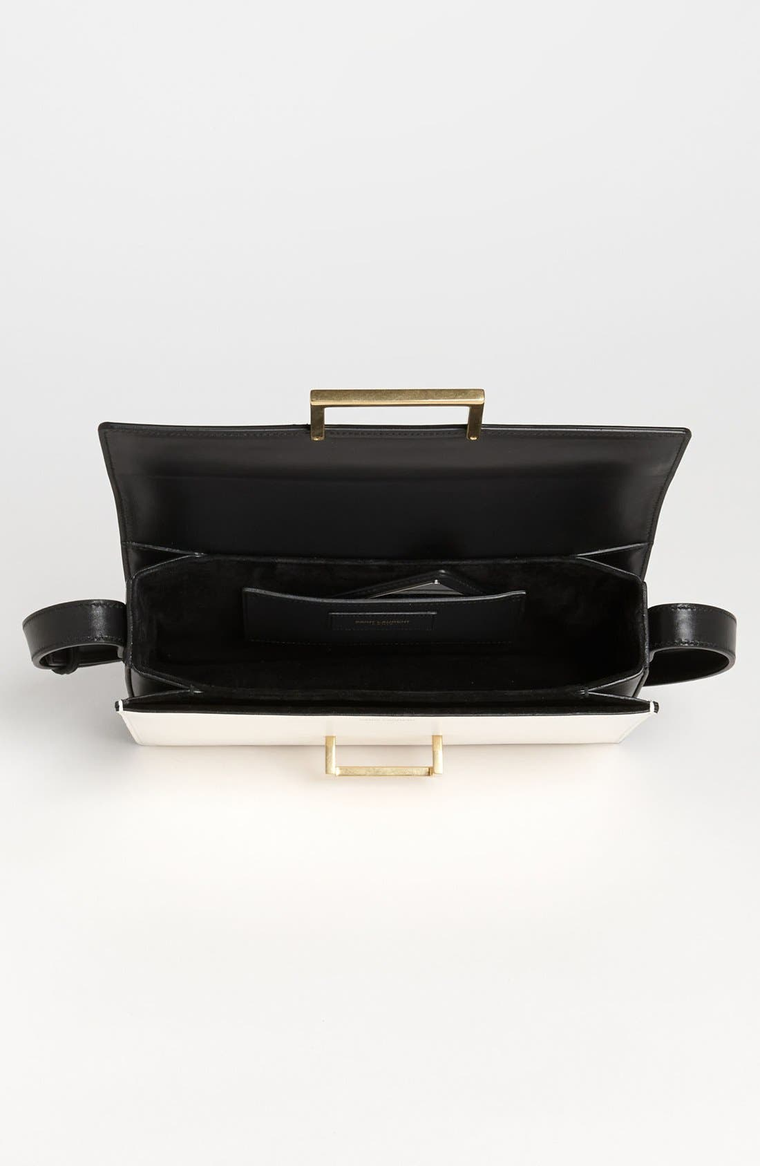 Alternate Image 3  - Saint Laurent 'Lulu Classique' Leather Shoulder Bag