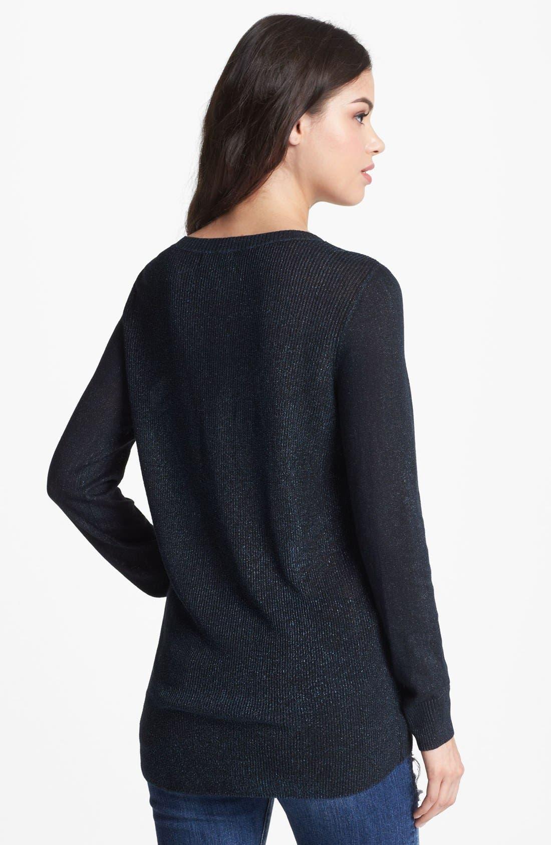 Alternate Image 2  - Trouvé Metallic Sweater