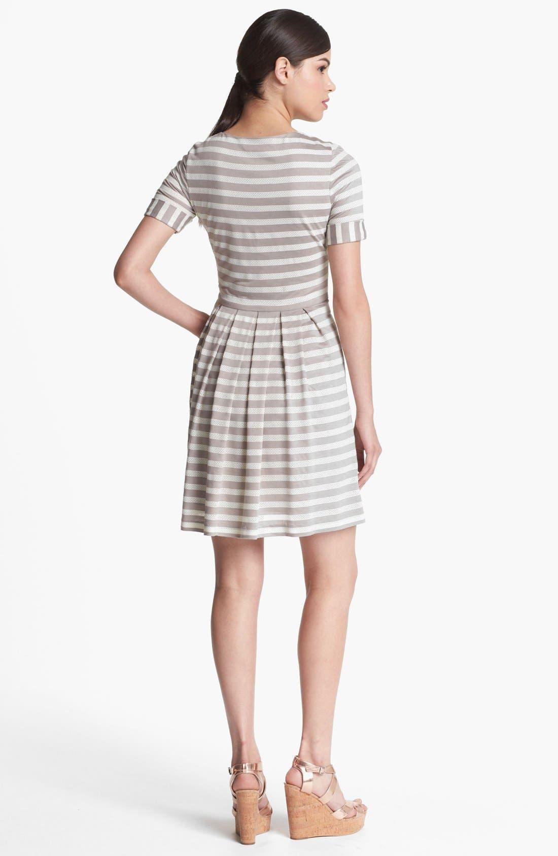 Alternate Image 2  - Ivy & Blu Roll Sleeve Knit Dress