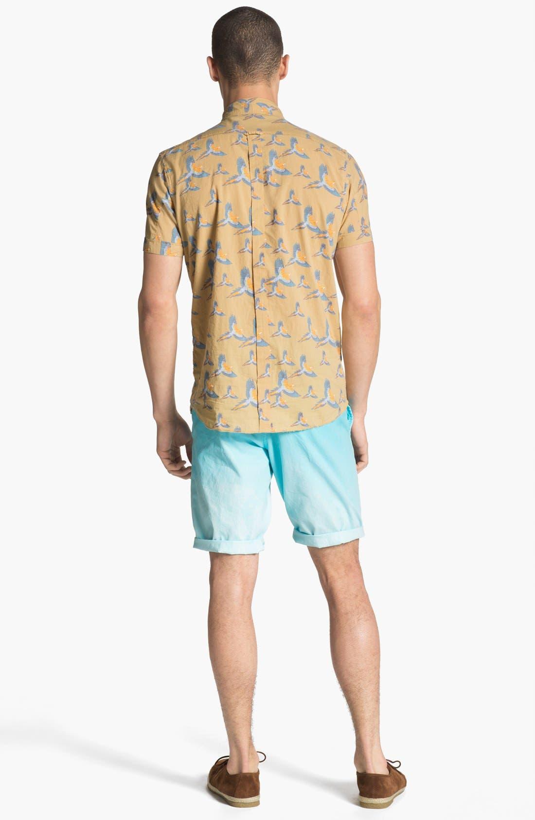 Alternate Image 5  - ZANEROBE Print Woven Shirt