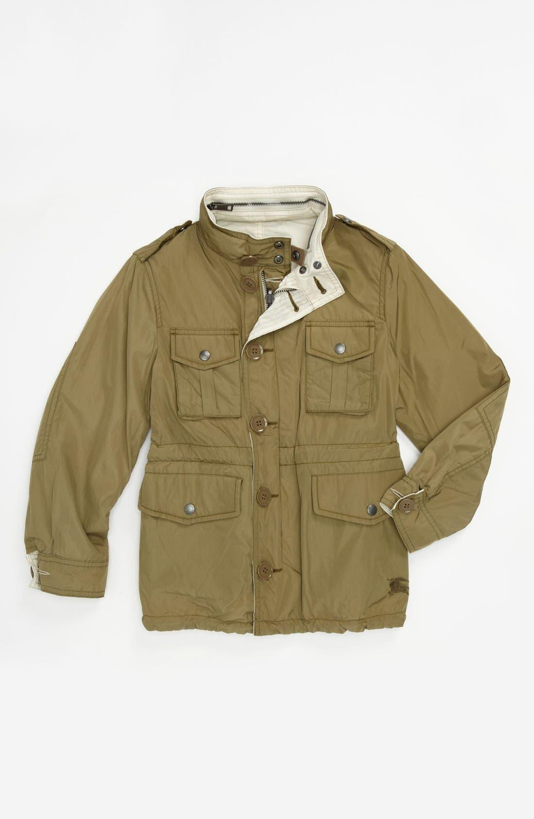 Alternate Image 2  - Burberry 'Belfont' Reversible Jacket (Little Boys & Big Boys)